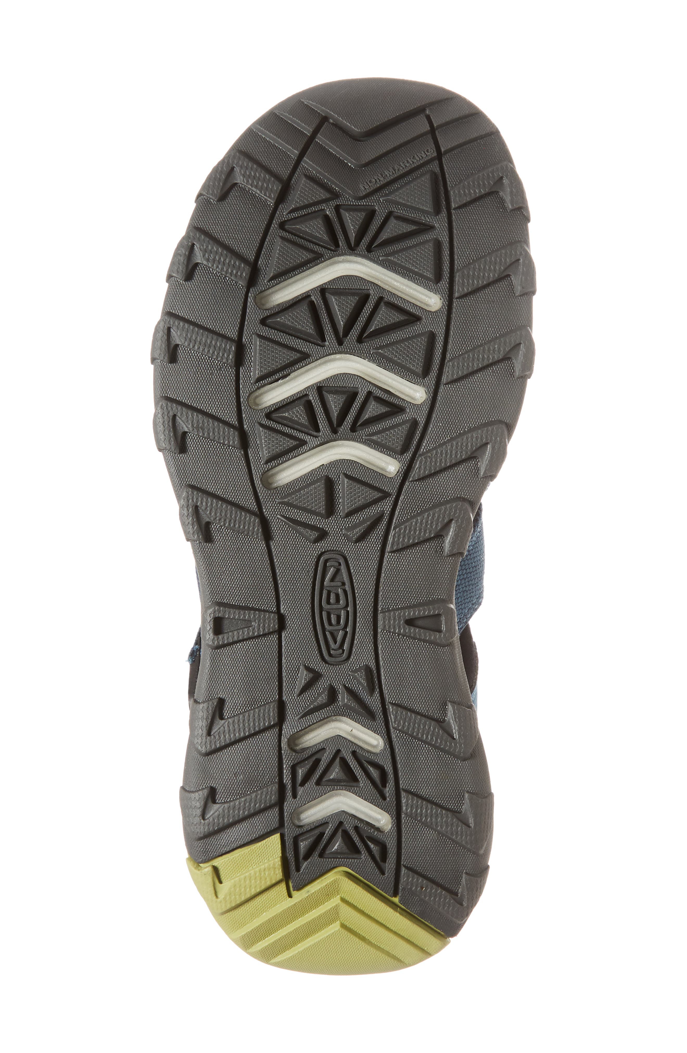 KEEN, Newport Neo H2 Water Friendly Sandal, Alternate thumbnail 6, color, LEGION BLUE/ MOSS