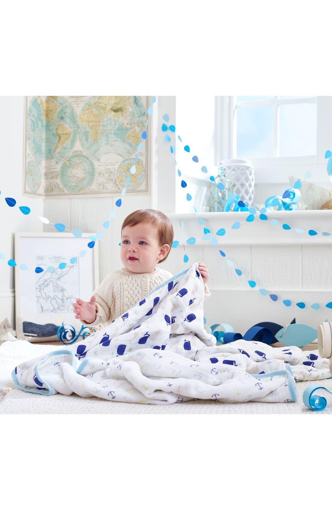 ADEN + ANAIS, Classic Dream Blanket<sup>™</sup>, Alternate thumbnail 2, color, HIGH SEAS