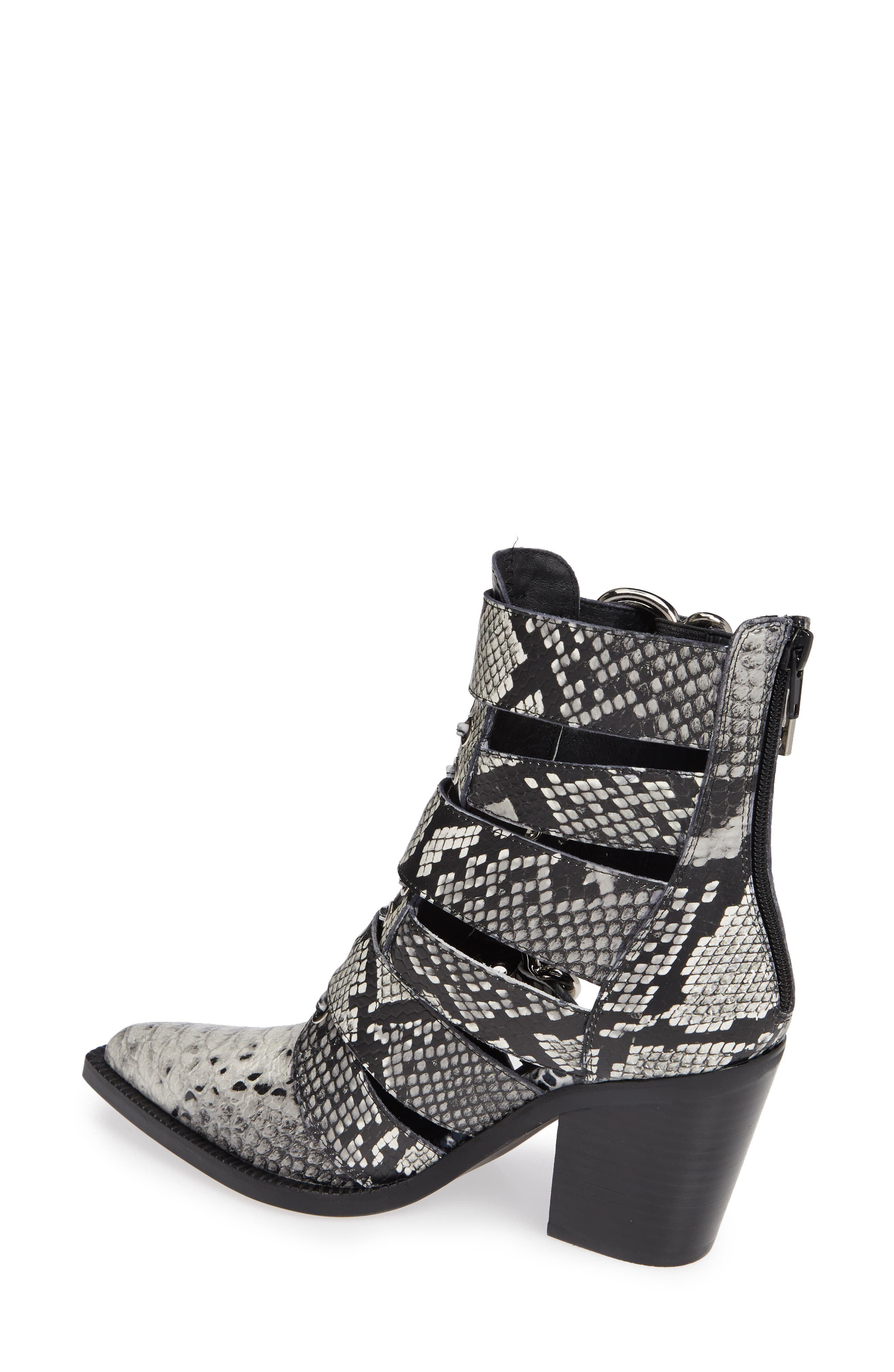 JEFFREY CAMPBELL, Caceres Bootie, Alternate thumbnail 2, color, 001