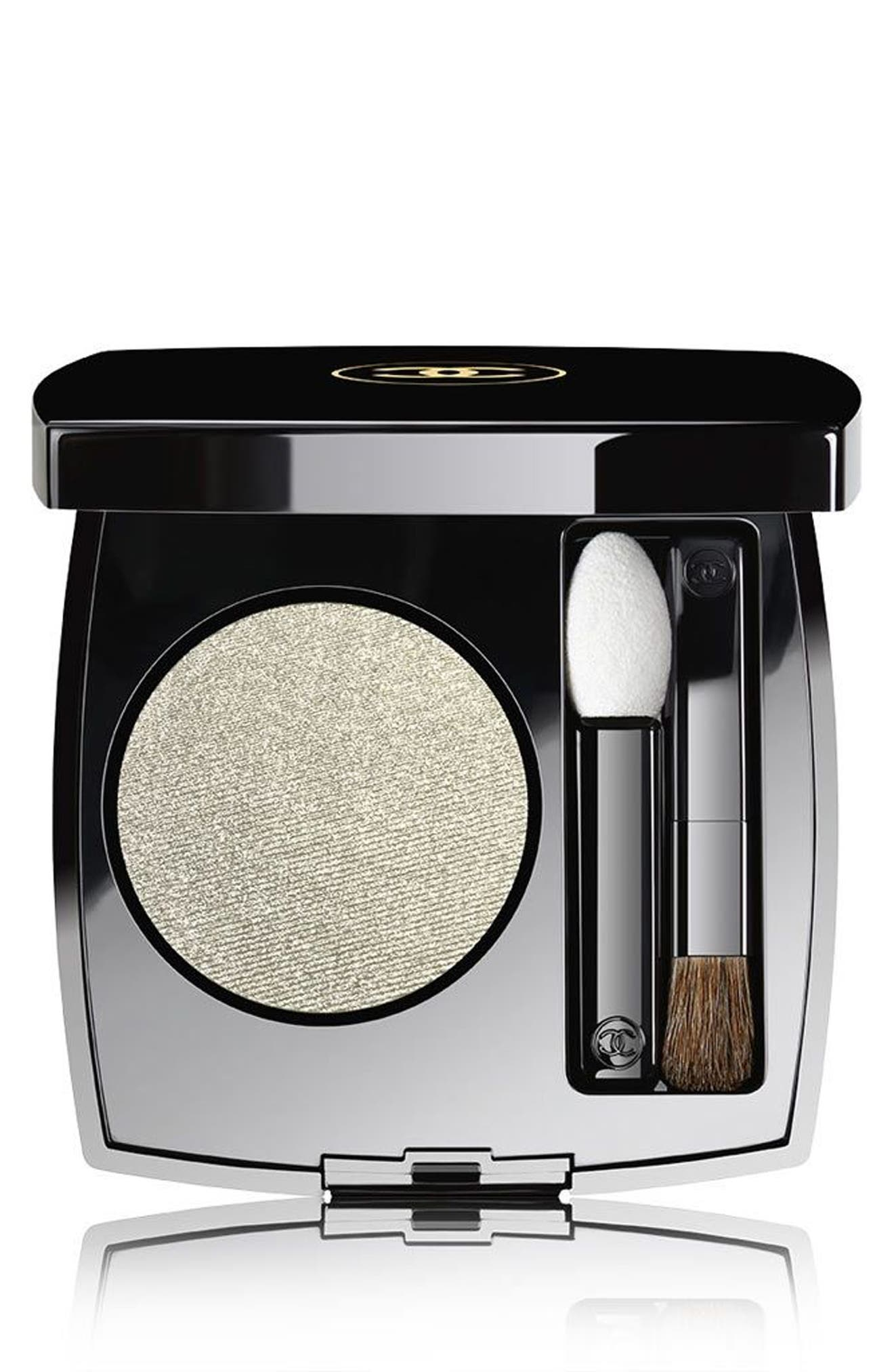 CHANEL OMBRE PREMIÈRE<br />Longwear Powder Eyeshadow, Main, color, 38 TITANE