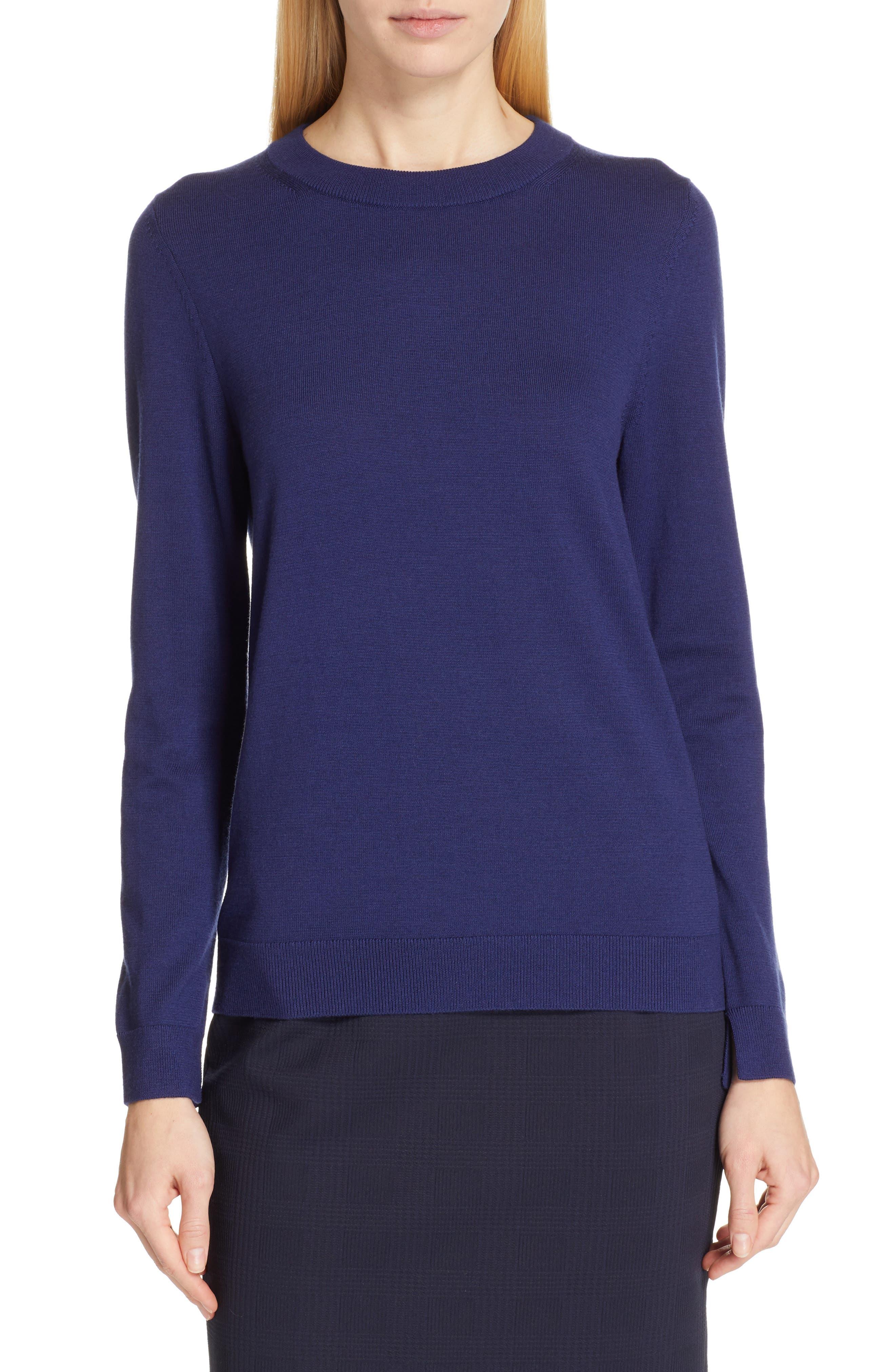 Boss Fegan Wool Sweater, Blue