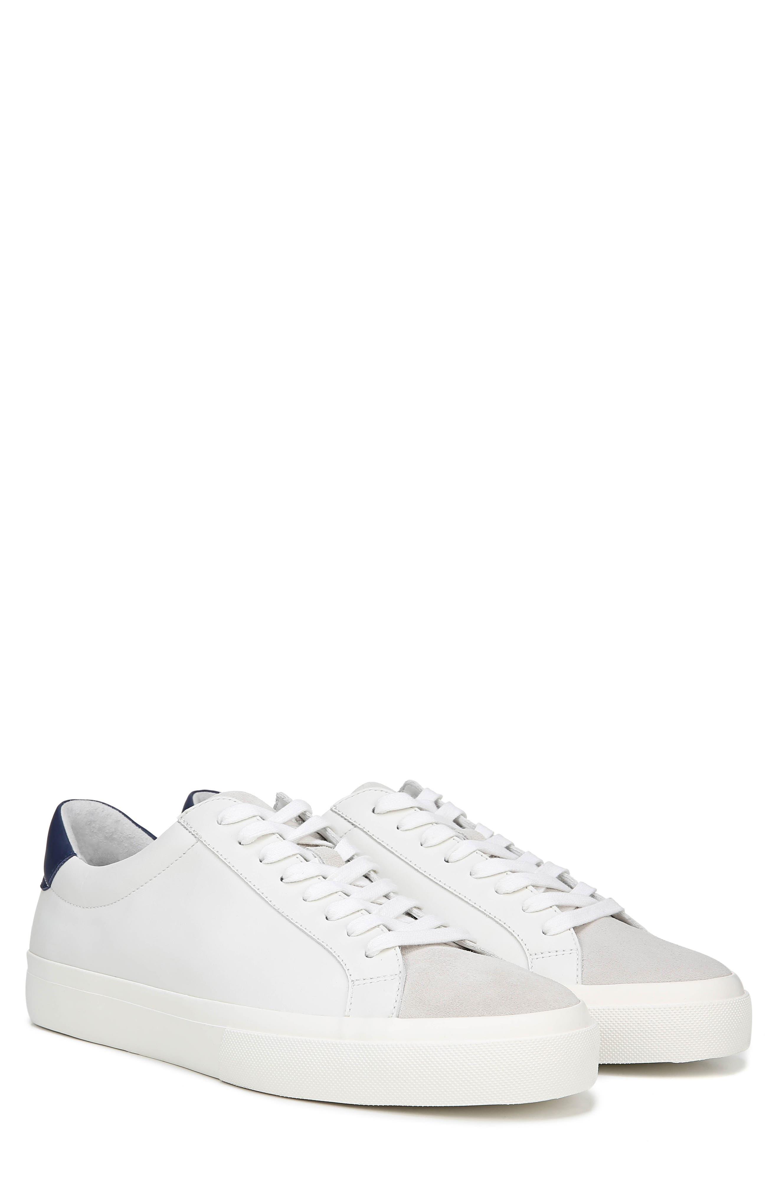 VINCE, Fulton Sneaker, Alternate thumbnail 8, color, WHITE