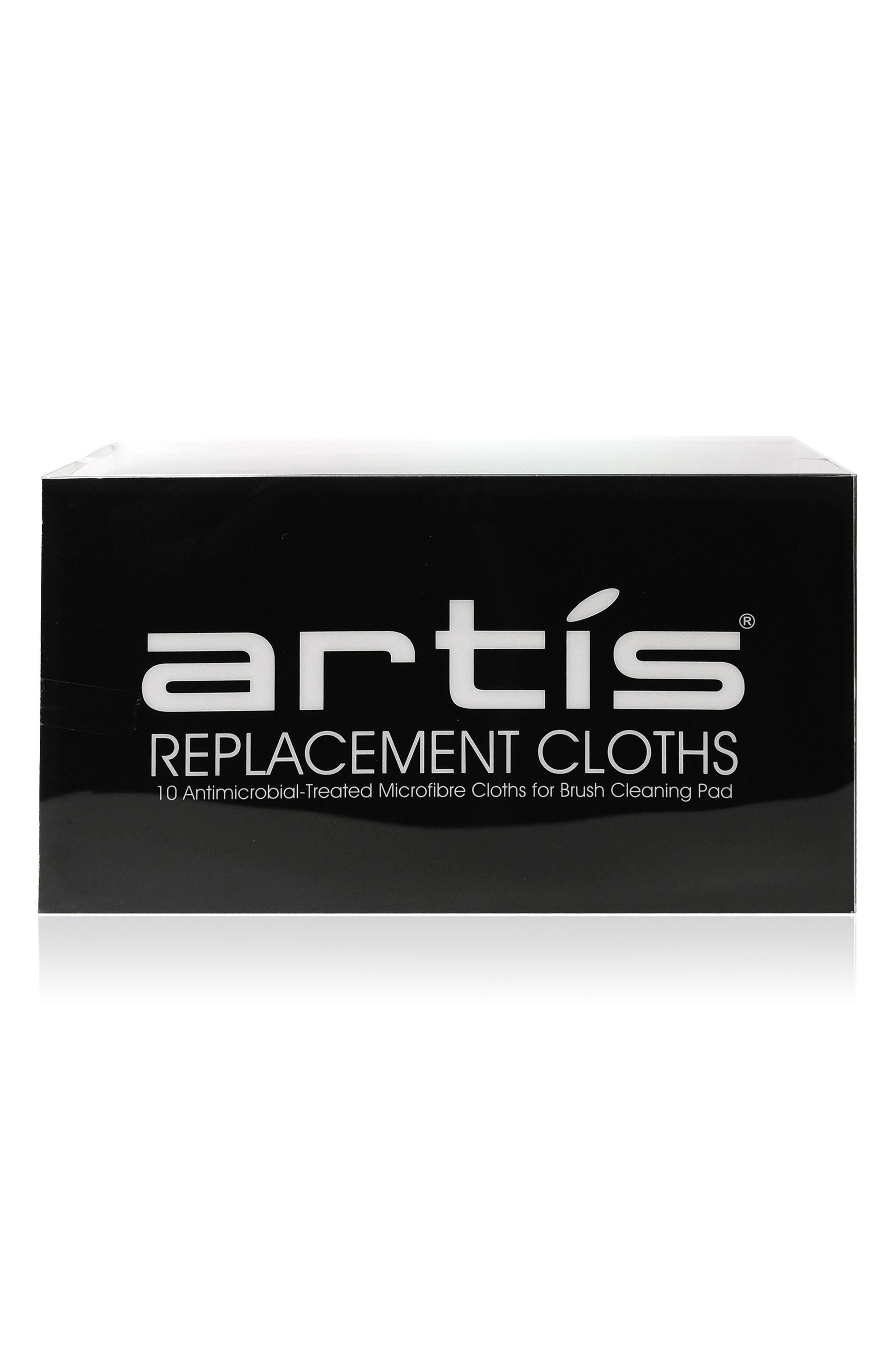 ARTIS, Microfiber Cloth Replacement Set, Main thumbnail 1, color, NO COLOR