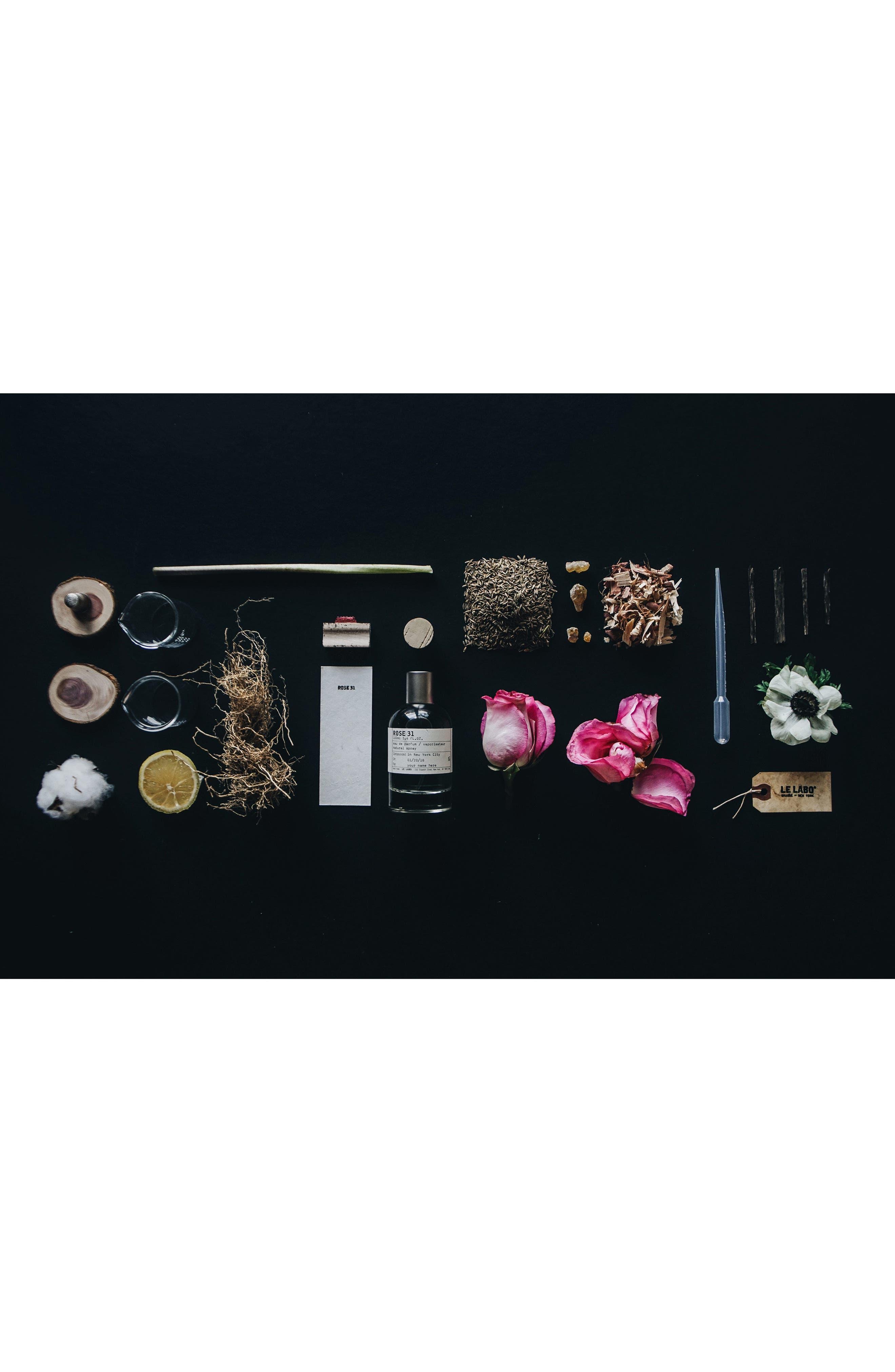 LE LABO, Rose 31 Eau de Parfum, Alternate thumbnail 4, color, NO COLOR
