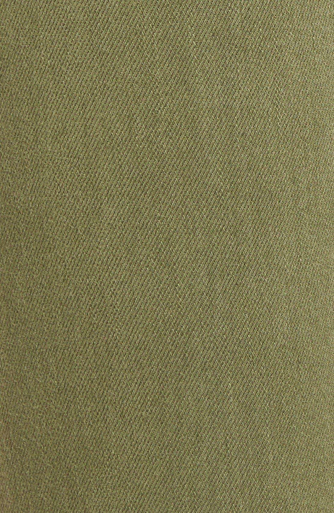 CURRENT/ELLIOTT, 'The Stiletto' Crop Skinny Jeans, Alternate thumbnail 5, color, 309