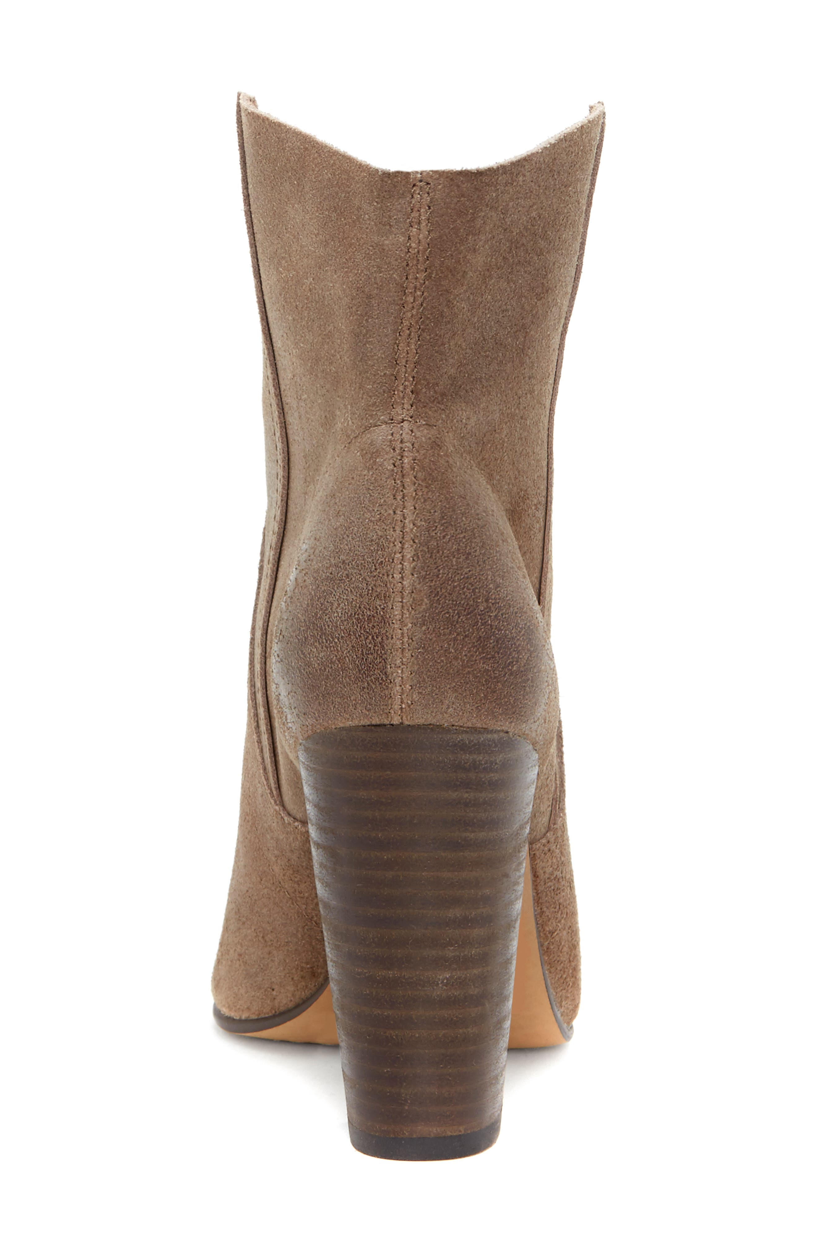 VINCE CAMUTO, Creestal Western Bootie, Alternate thumbnail 7, color, BEDROCK LEATHER