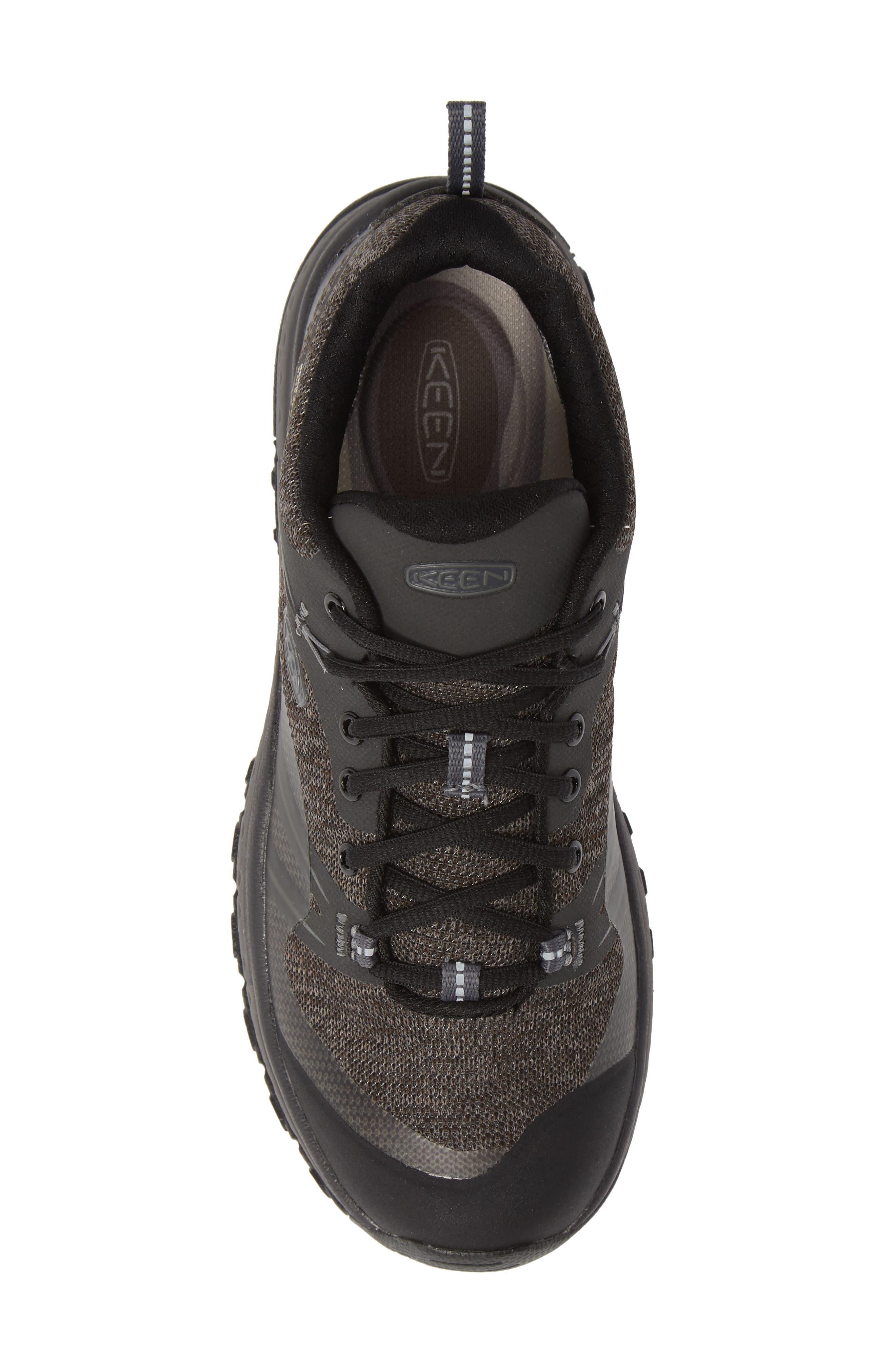 KEEN, Terradora Hiking Waterproof Sneaker, Alternate thumbnail 5, color, RAVEN/ GARGOYLE