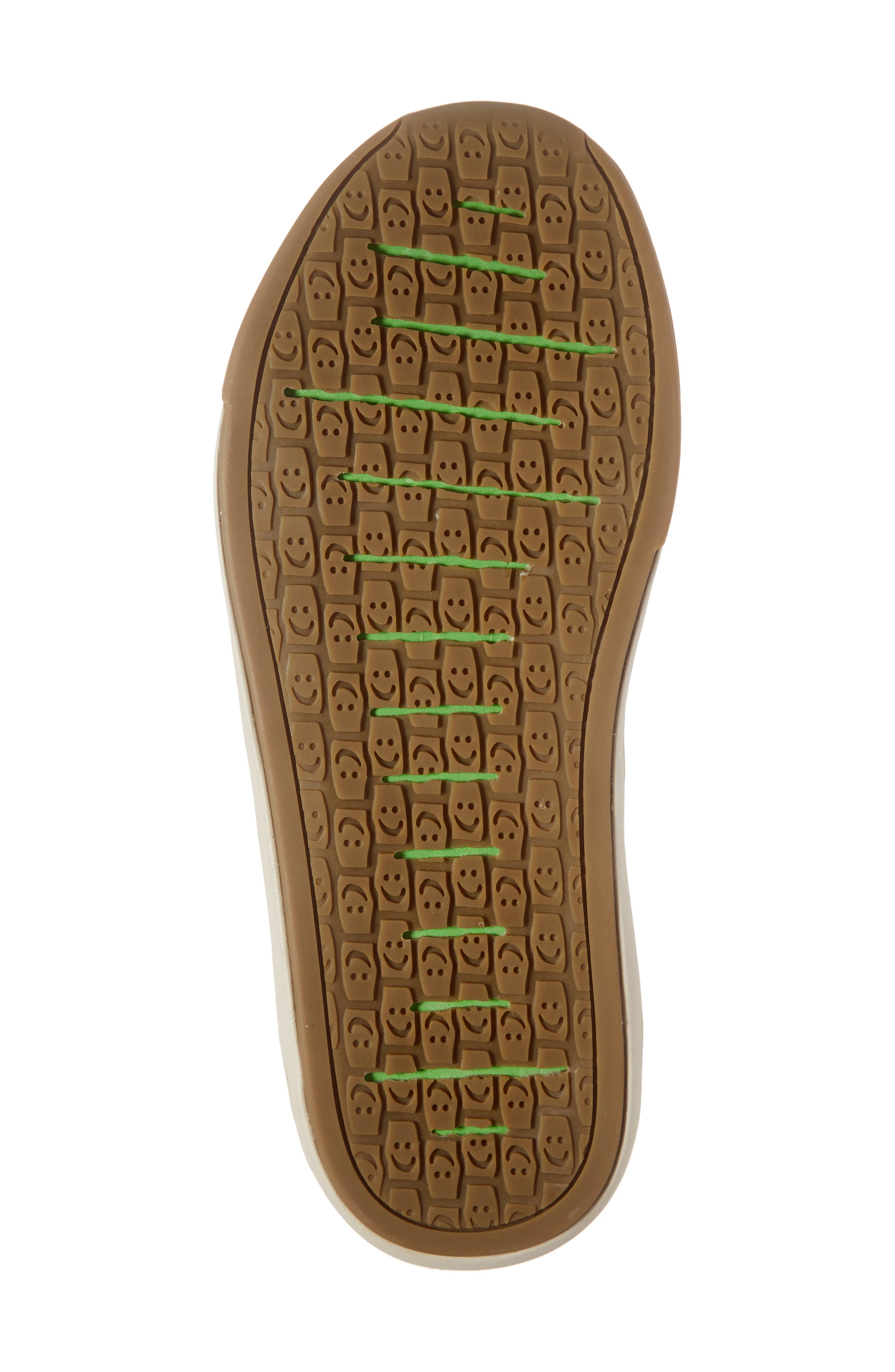 SANUK, Chiba Quest Knit Slip-On Sneaker, Alternate thumbnail 6, color, BROWN NATURAL