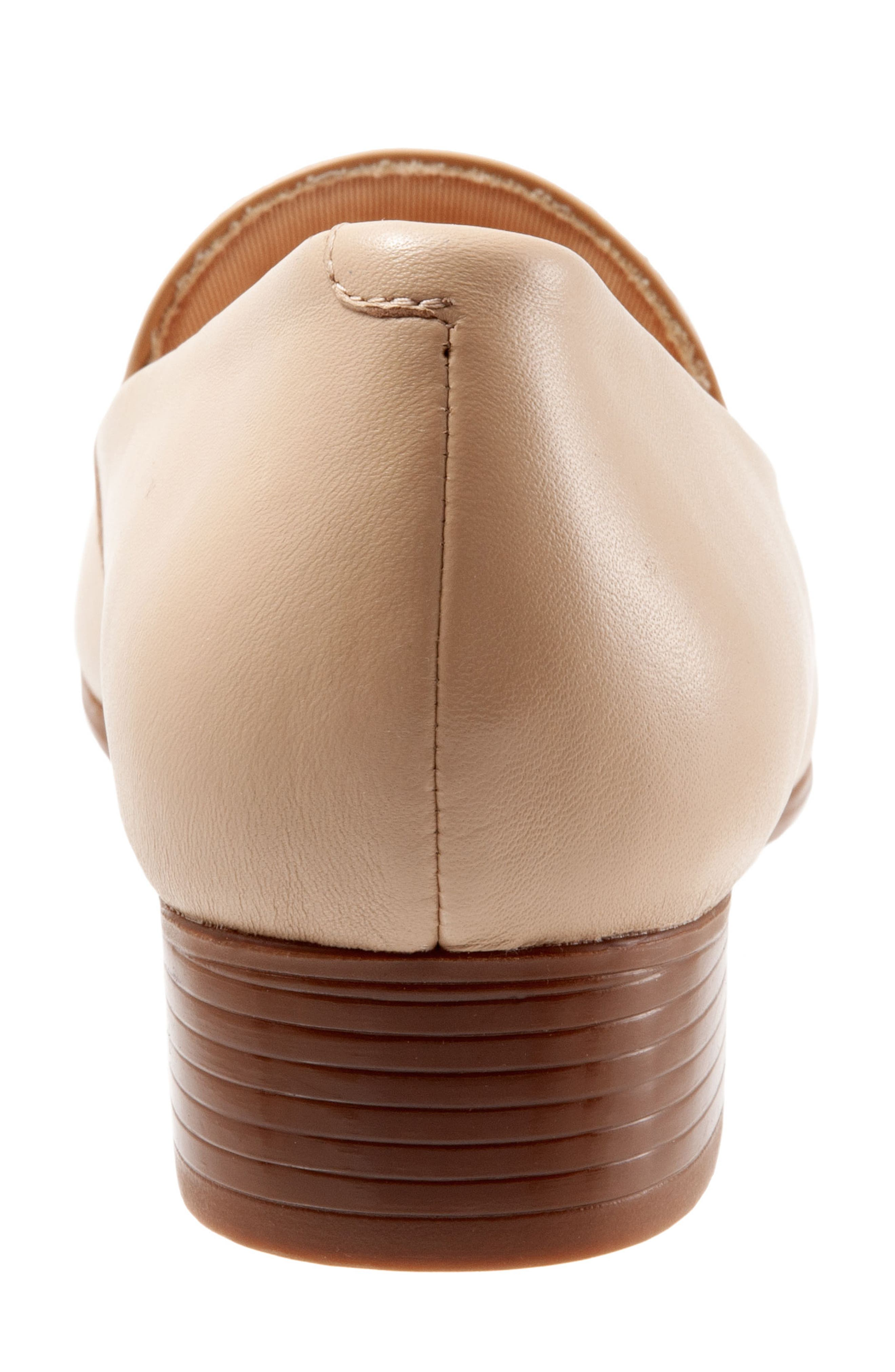 TROTTERS, Mary Tassel Loafer, Alternate thumbnail 7, color, NUDE LEATHER