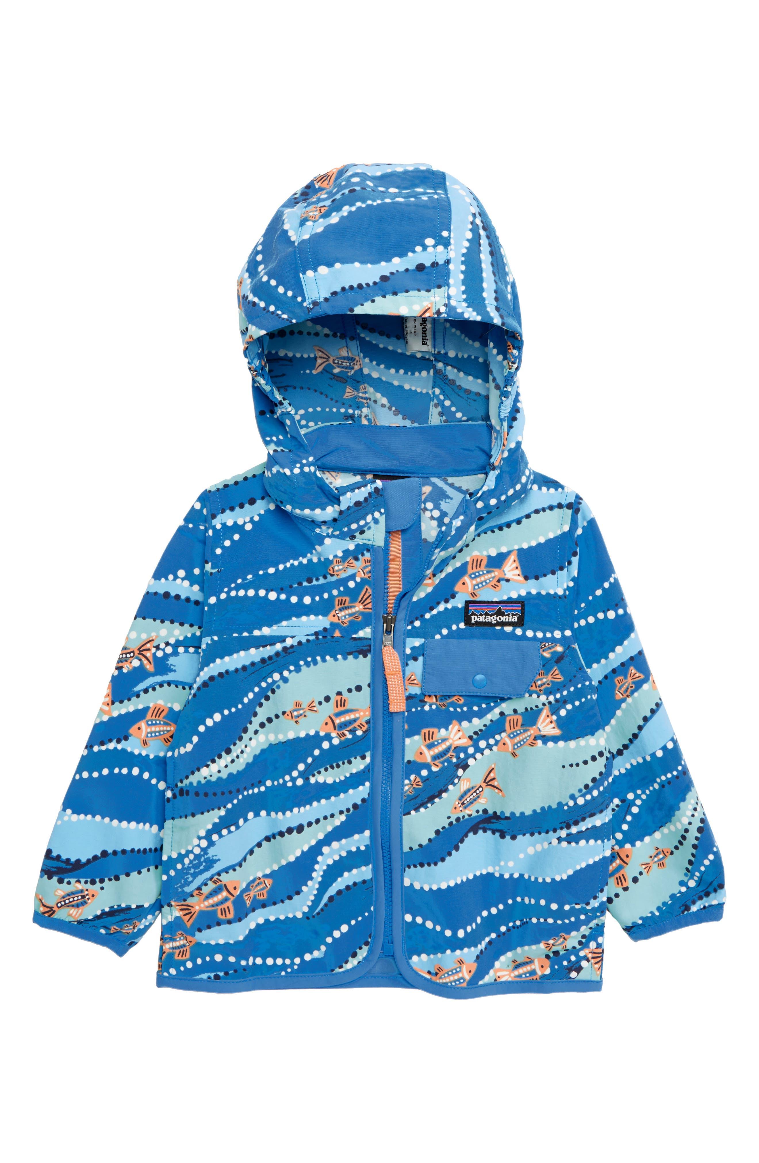 PATAGONIA Baggies<sup>™</sup> Jacket, Main, color, BEPO BELL BAY: PORT BLUE