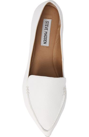 aa728f1af74 Steve Madden Feather Loafer Flat (Women)