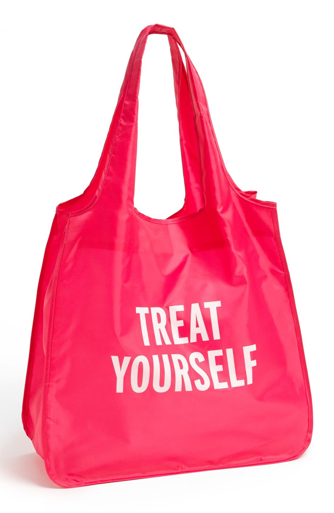 KATE SPADE NEW YORK, 'treat yourself' reusable shopping tote, Main thumbnail 1, color, 650