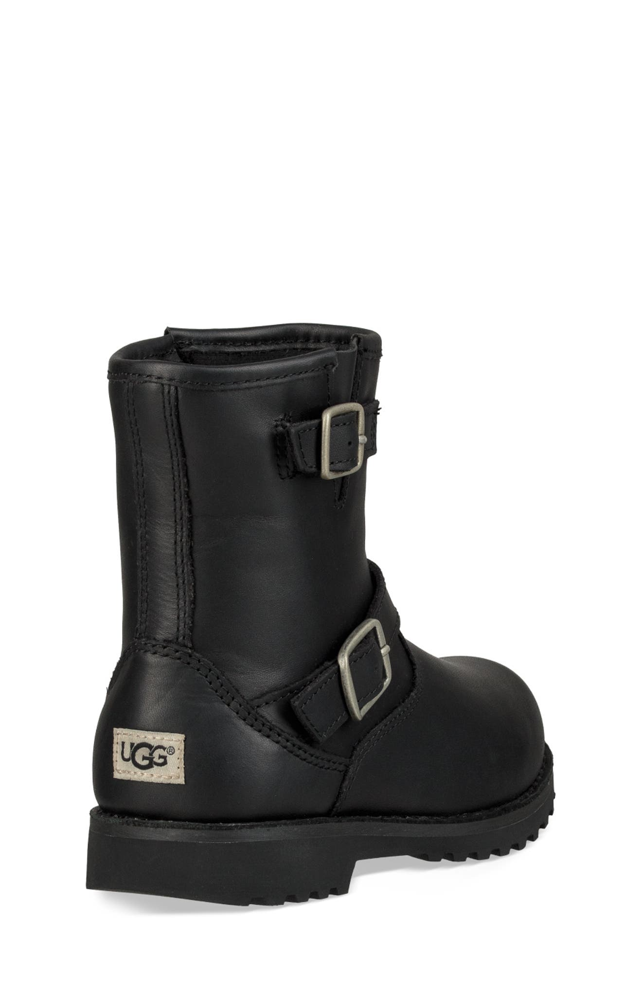 UGG<SUP>®</SUP>, Harwell Boot, Alternate thumbnail 2, color, BLACK