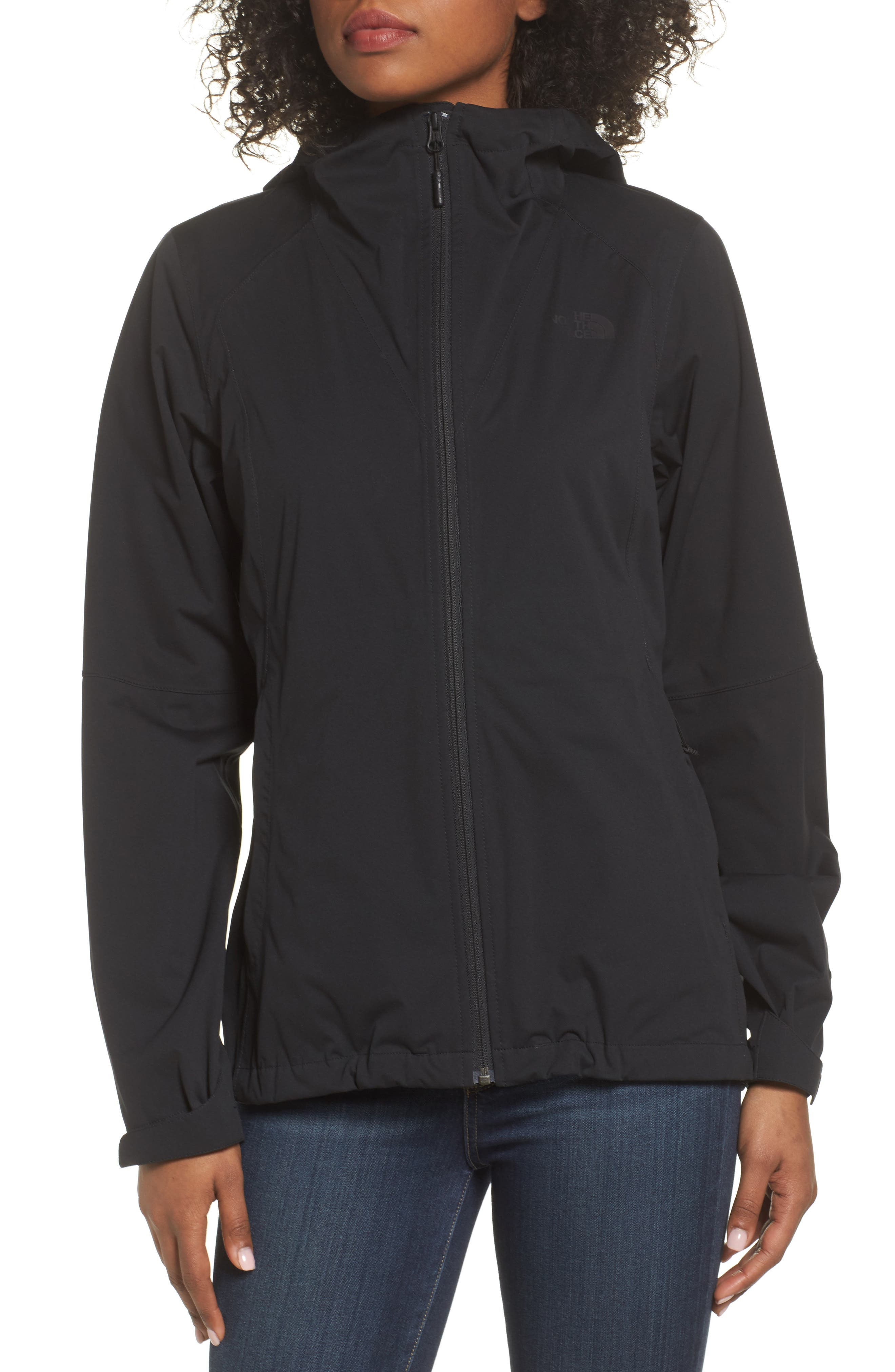 THE NORTH FACE, Allproof Stretch Jacket, Alternate thumbnail 5, color, 001