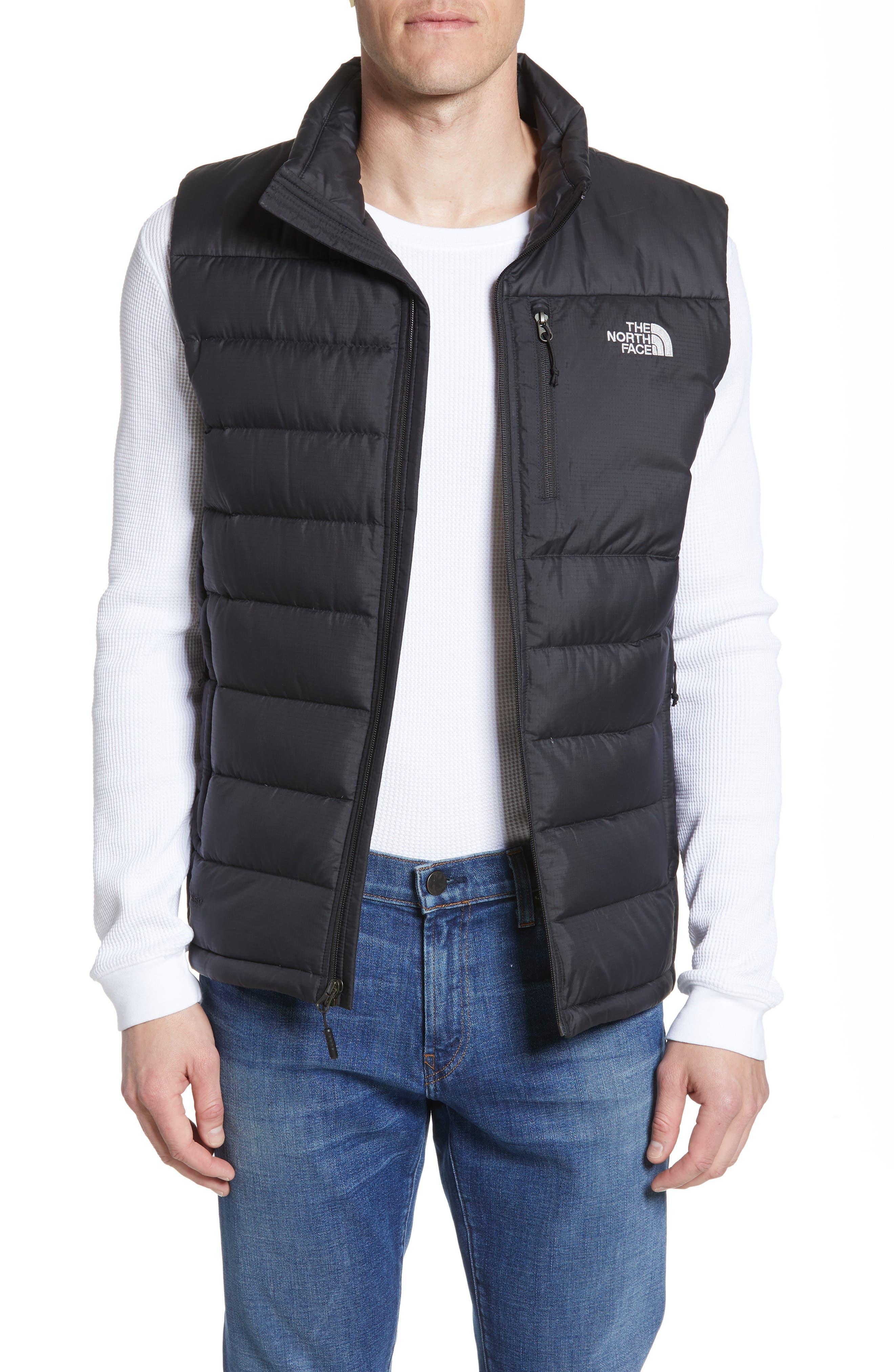 THE NORTH FACE, 'Aconcagua' Goose Down Vest, Alternate thumbnail 2, color, 001