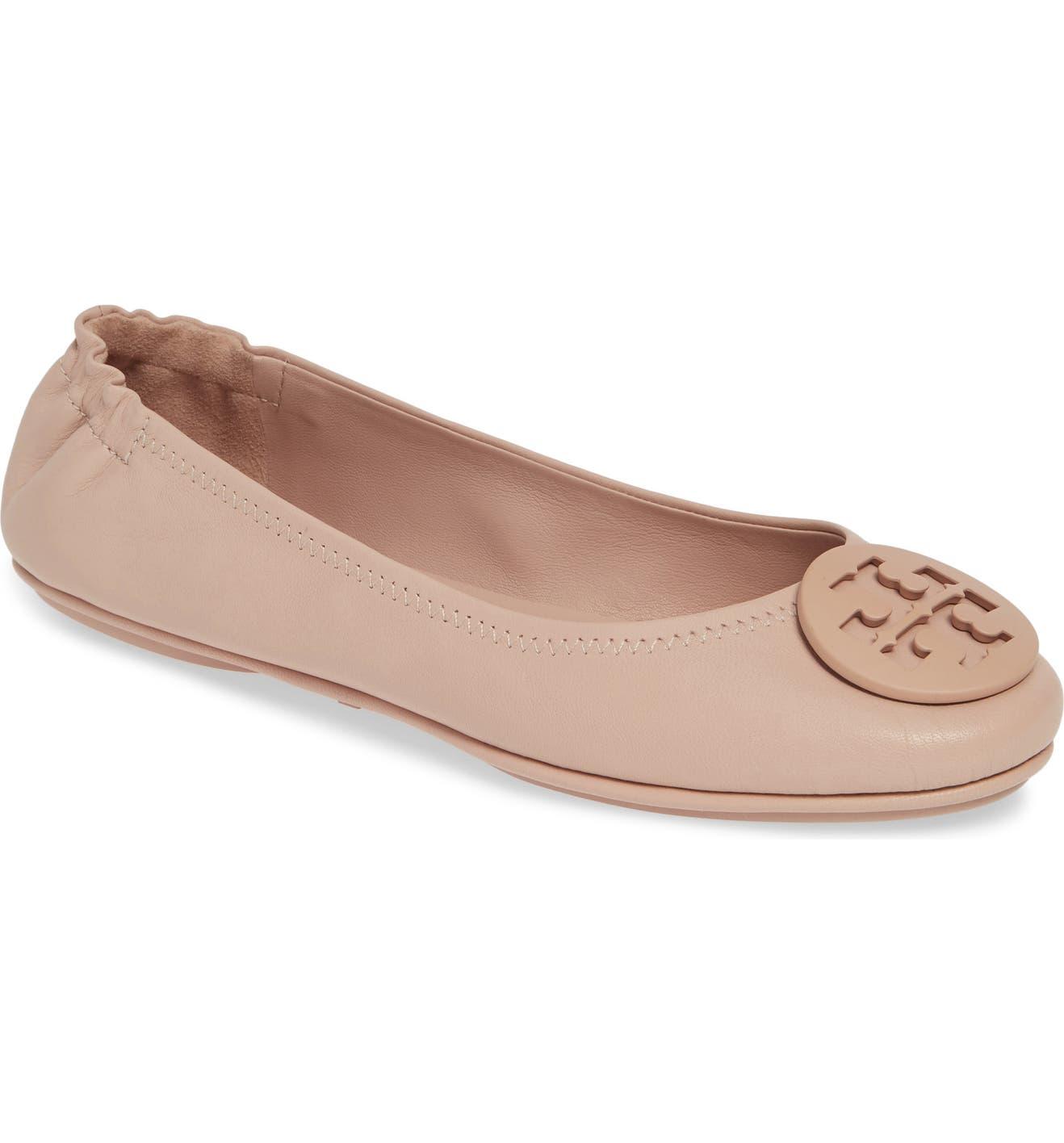 74249ed22 Tory Burch  Minnie  Travel Ballet Flat (Women)