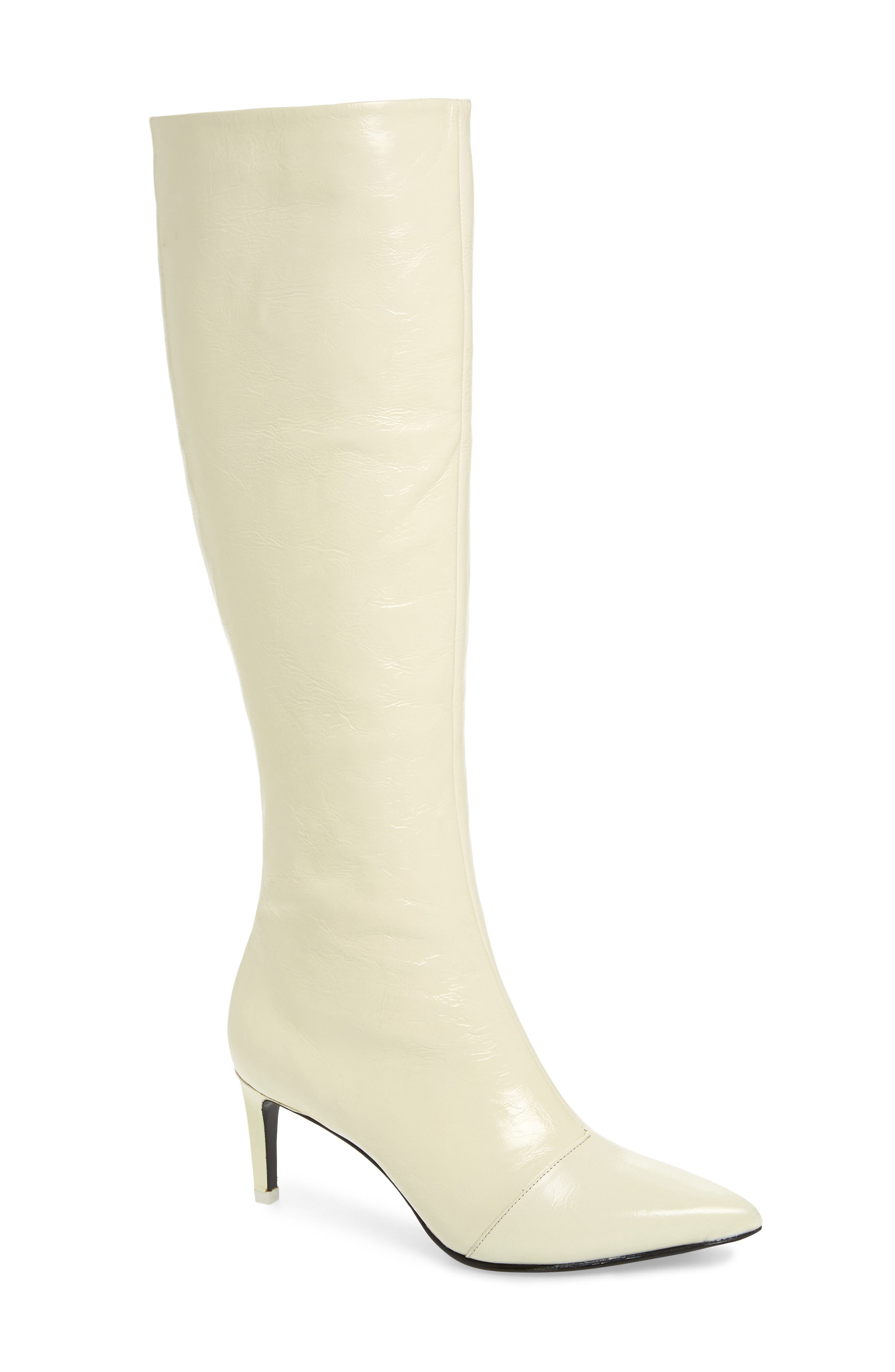 Rag & Bone Beha Knee High Boot - White
