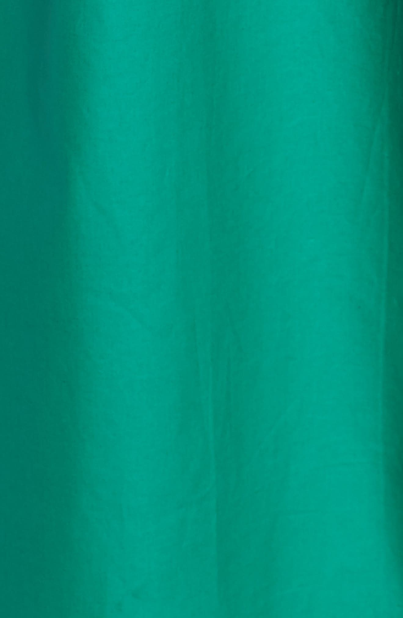 HALOGEN<SUP>®</SUP>, Elongated Cotton Overcoat, Alternate thumbnail 7, color, GREEN ULTRA