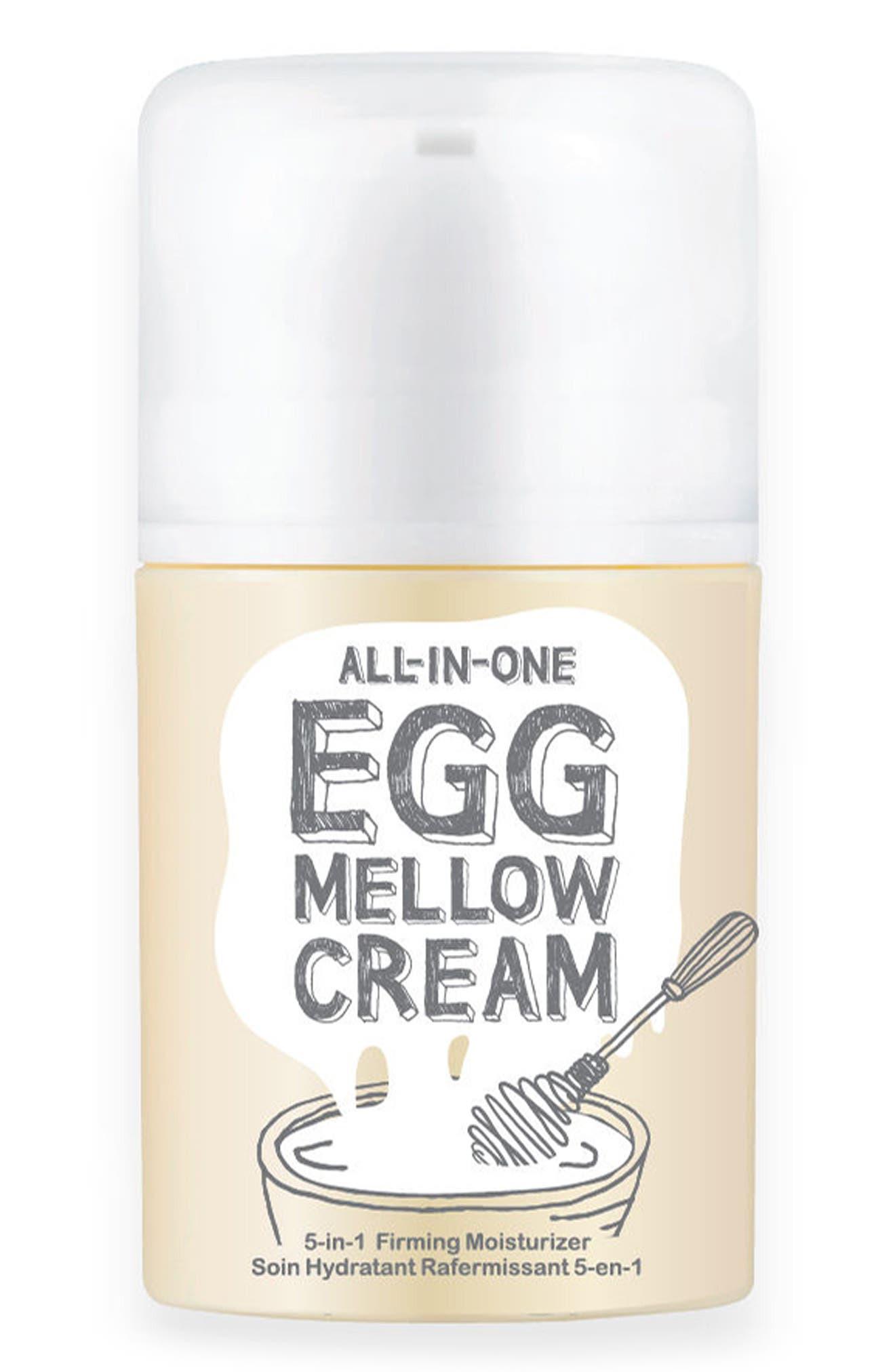 TOO COOL FOR SCHOOL, Egg Mellow Cream, Main thumbnail 1, color, NO COLOR