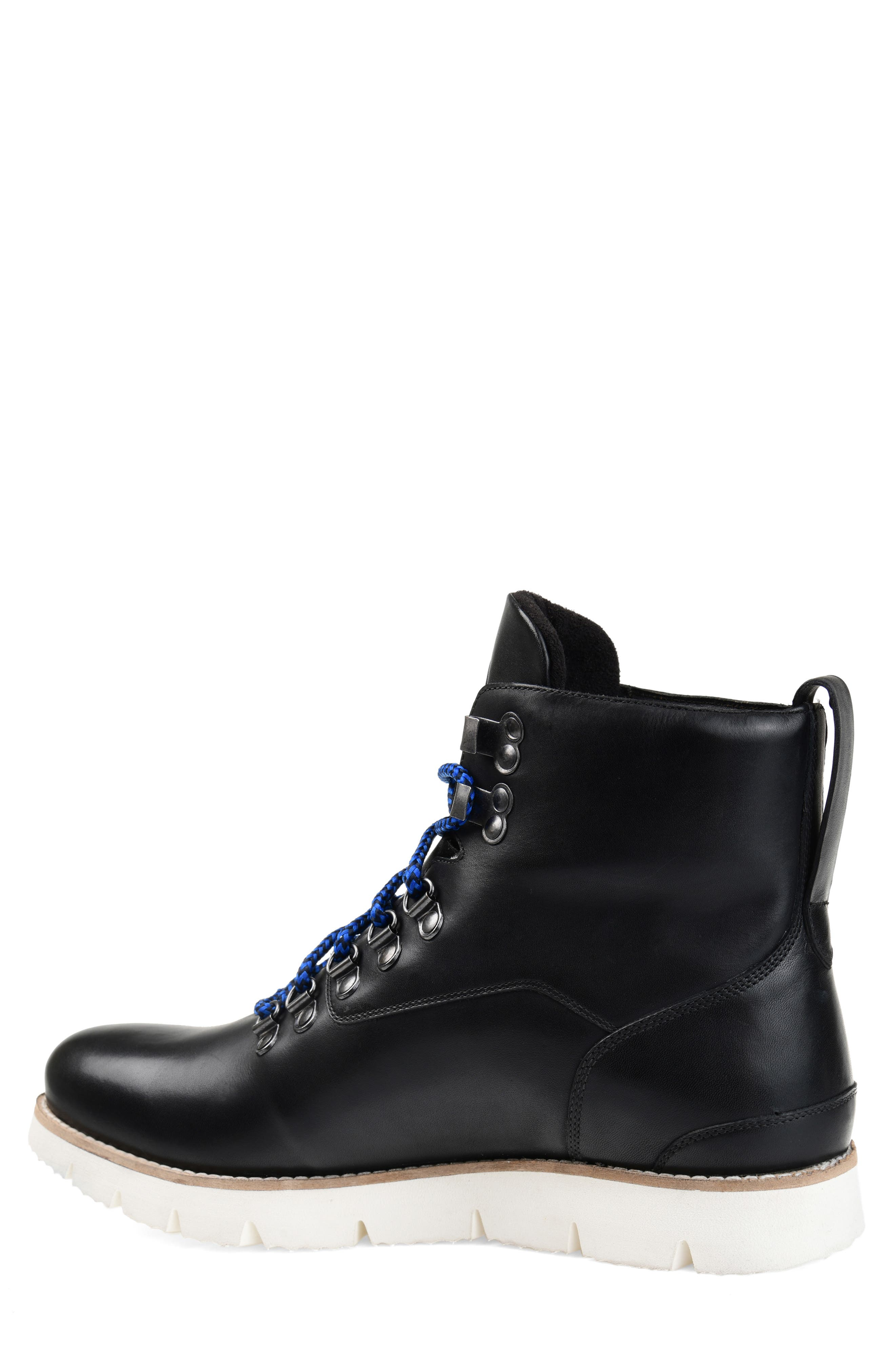 THOMAS AND VINE, Siege Boot, Alternate thumbnail 2, color, BLACK LEATHER