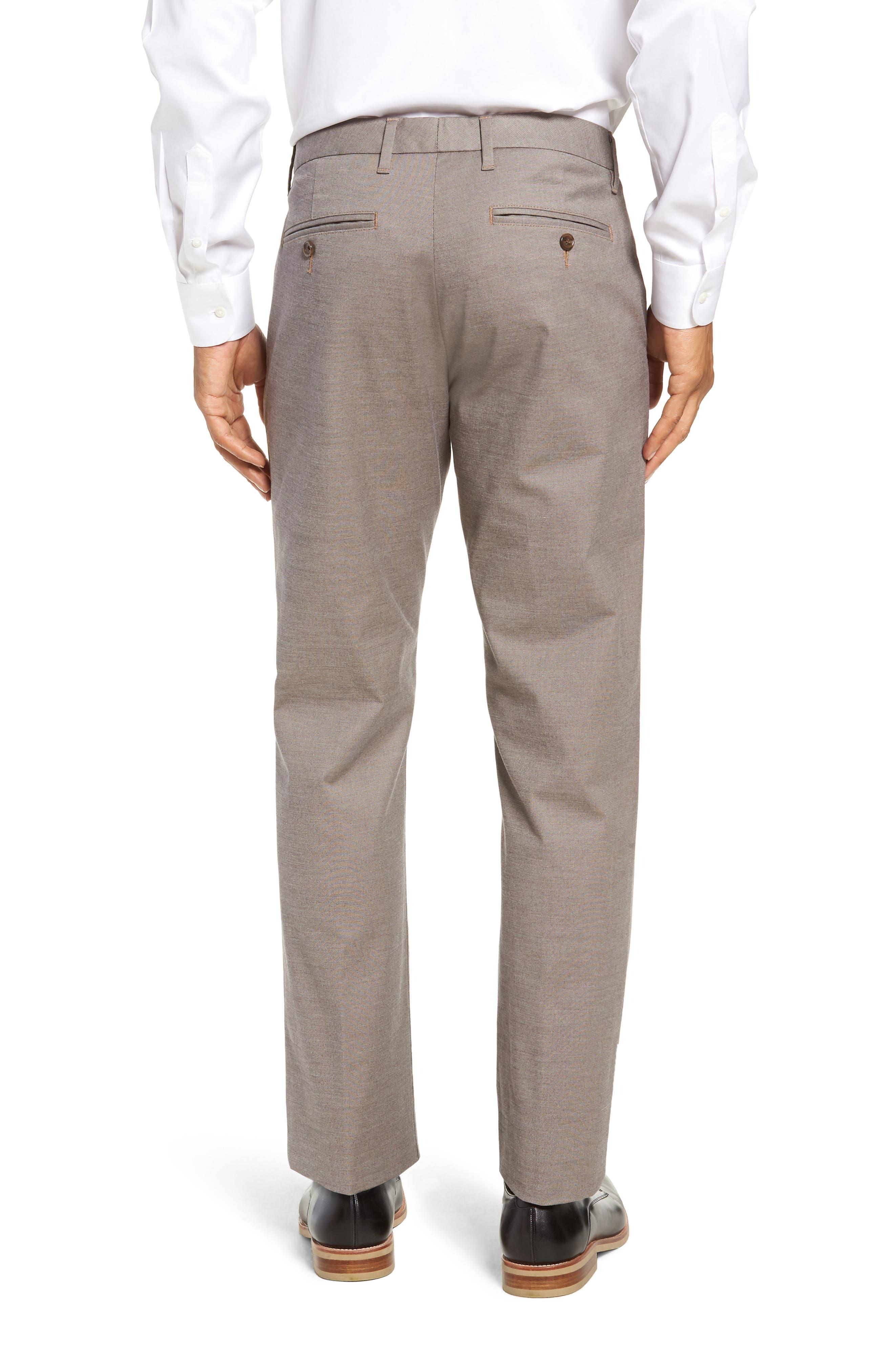 BONOBOS, Weekday Warrior Slim Fit Stretch Dress Pants, Alternate thumbnail 2, color, LIGHT KHAKI YARN DYE