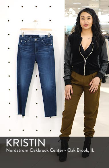 The Prima Raw Hem Crop Jeans, sales video thumbnail