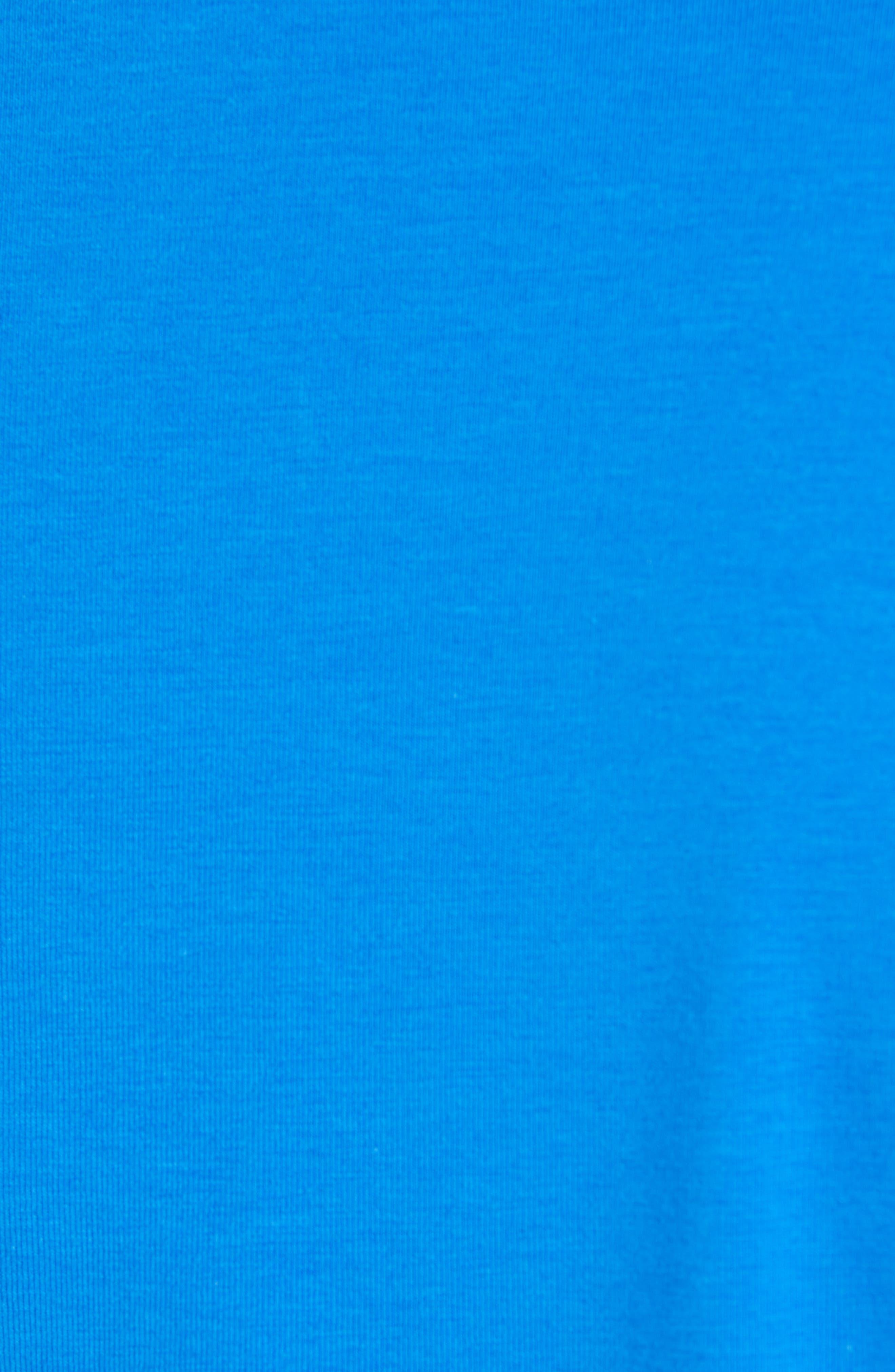 BOBBY JONES, 1930 Liquid Cotton Half Zip Pullover, Alternate thumbnail 5, color, LIBERTY