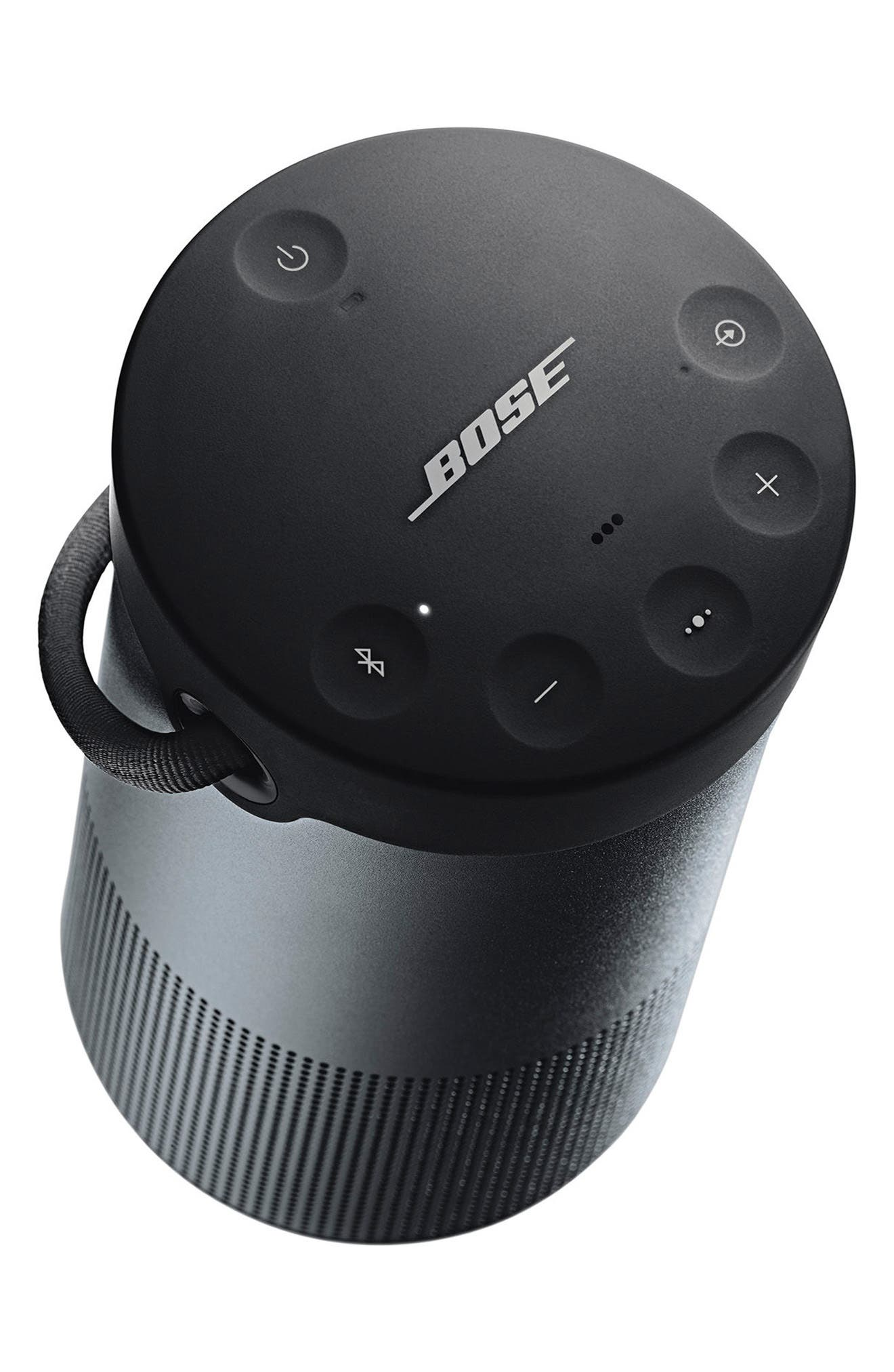 BOSE<SUP>®</SUP>, SoundLink<sup>®</sup> Revolve+ Bluetooth<sup>®</sup> Speaker, Alternate thumbnail 3, color, BLACK