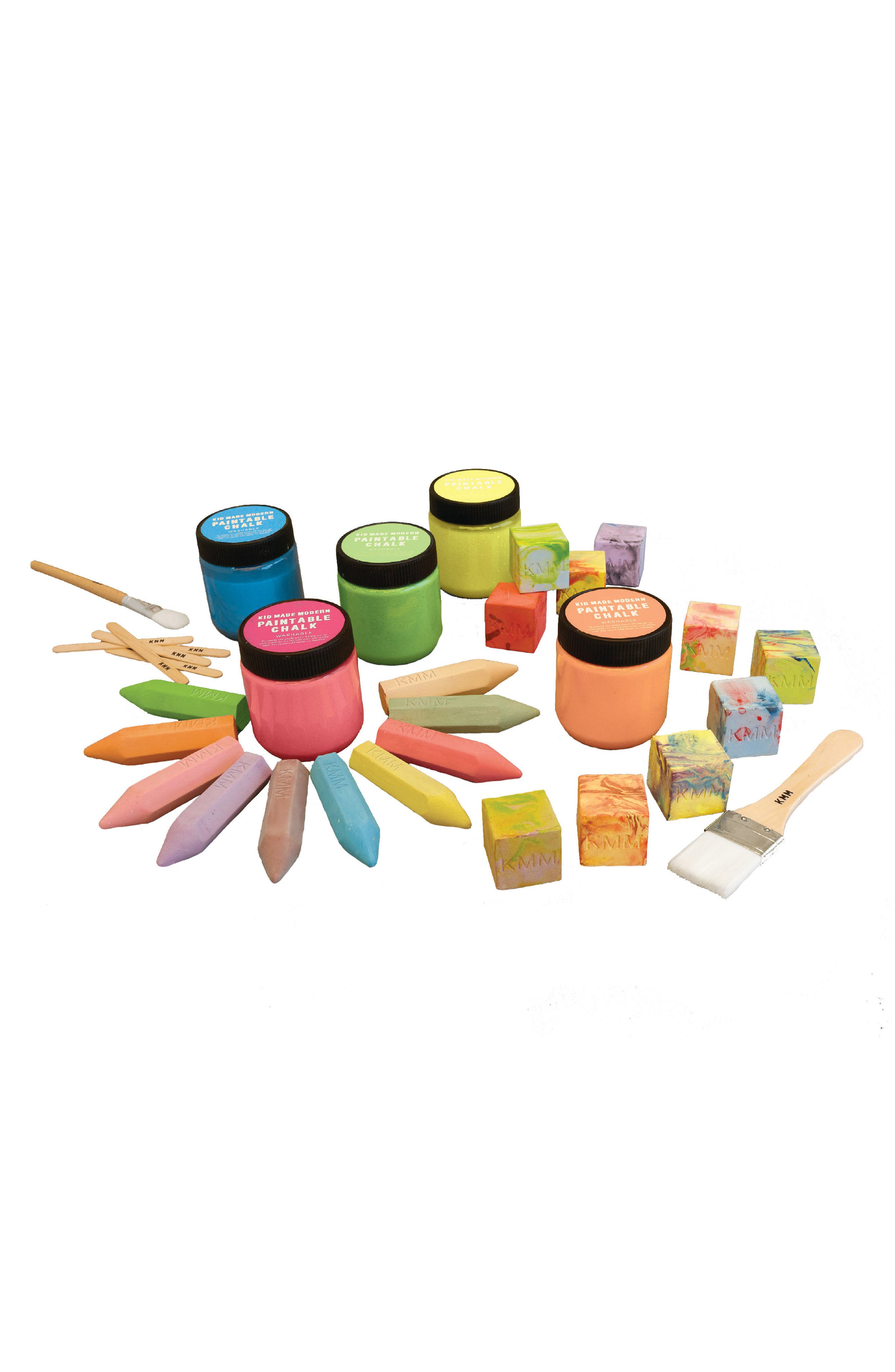 KID MADE MODERN, Chalk Party Outdoor Art Set, Alternate thumbnail 2, color, 800