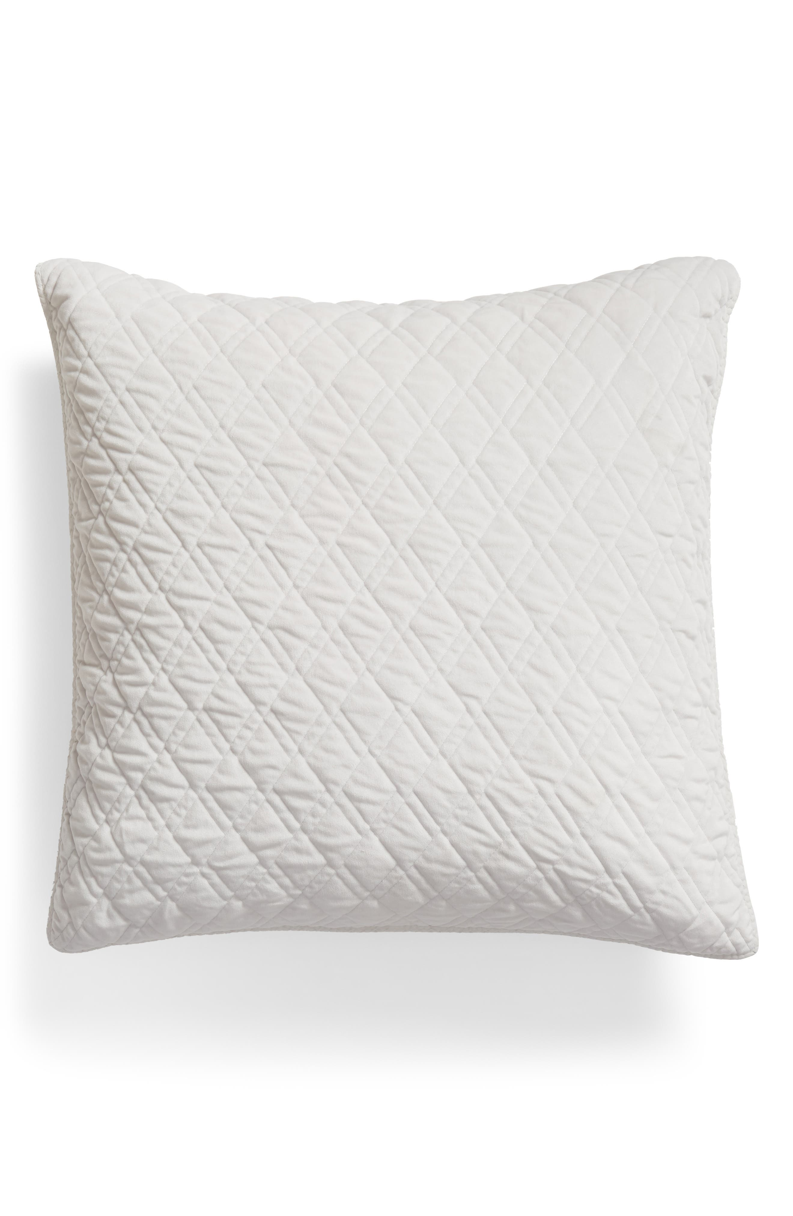 NORDSTROM AT HOME Karlina Quilted Euro Sham, Main, color, 020
