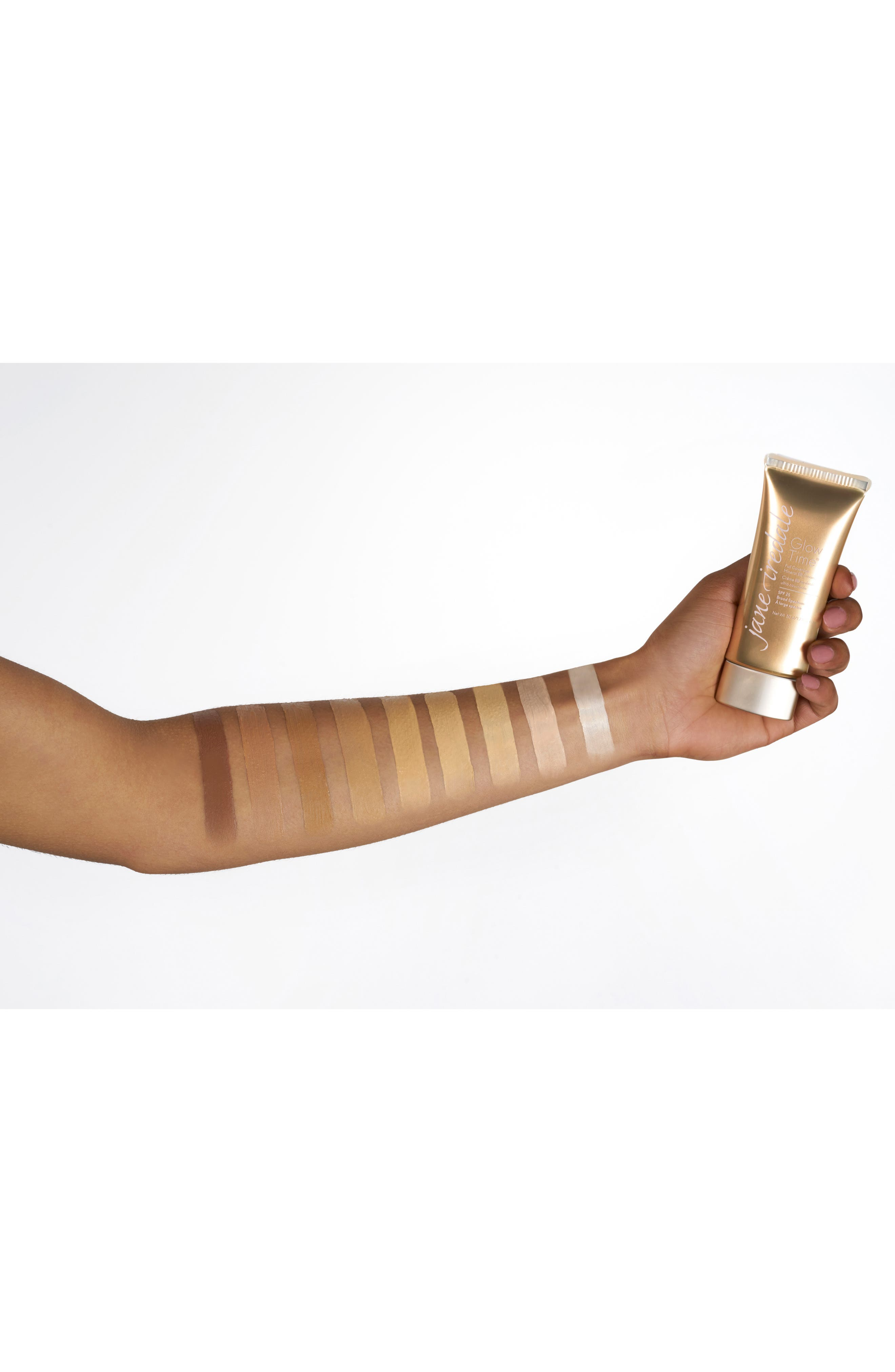 JANE IREDALE, Glow Time Full Coverage Mineral BB Cream Broad Spectrum SPF 25, Alternate thumbnail 5, color, BB12