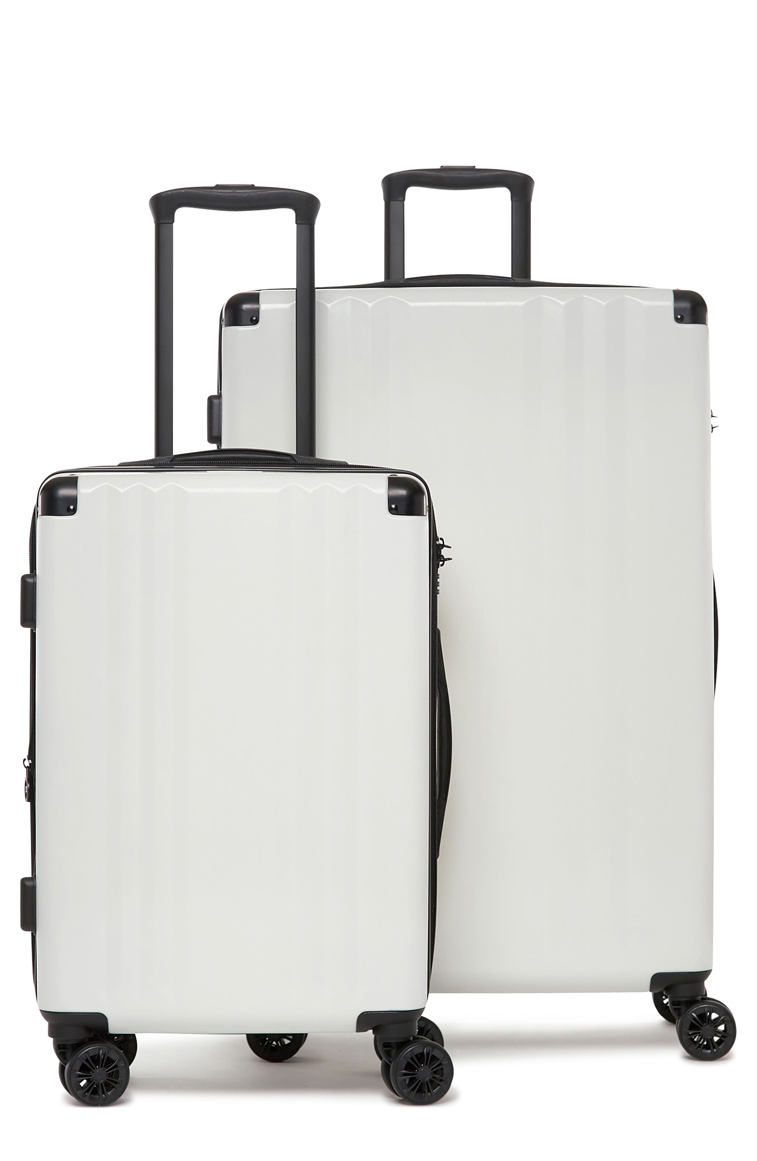 CALPAK, Ambeur 2-Piece Spinner Luggage Set, Main thumbnail 1, color, WHITE