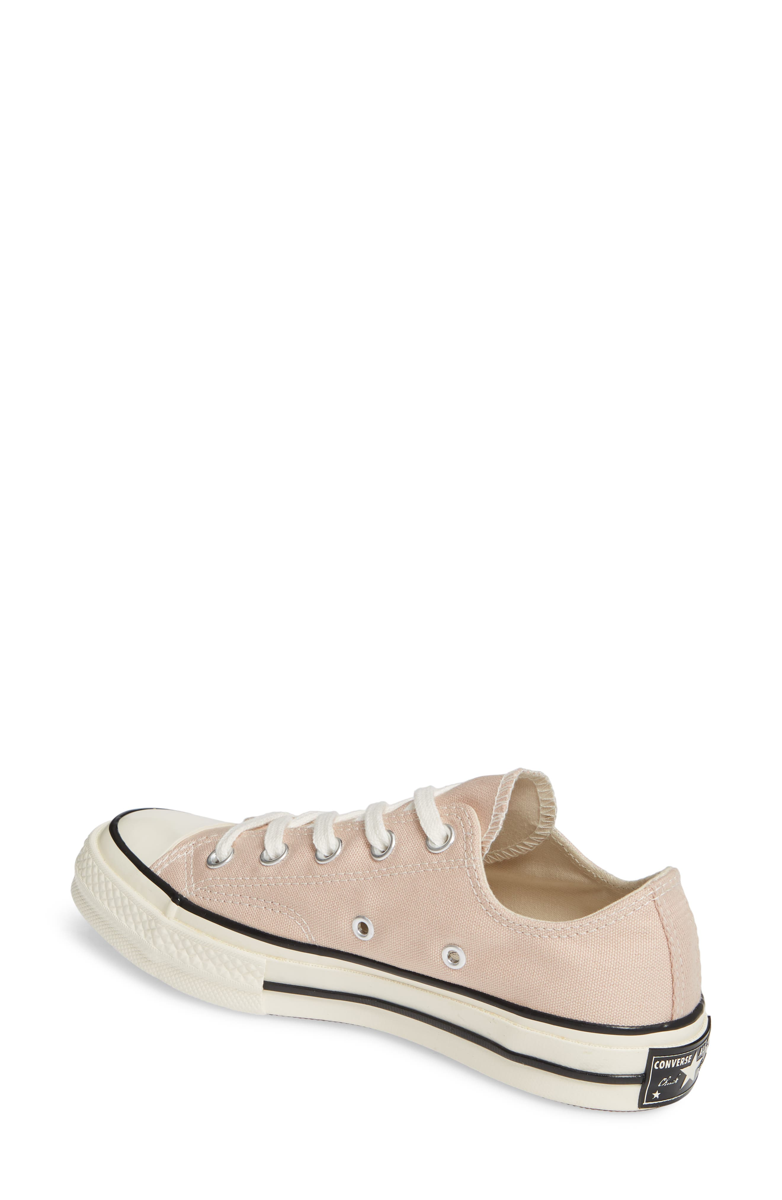 CONVERSE, Chuck Taylor<sup>®</sup> All Star<sup>®</sup> Chuck 70 Ox Sneaker, Alternate thumbnail 2, color, PARTICLE BEIGE/ BLACK/ EGRET