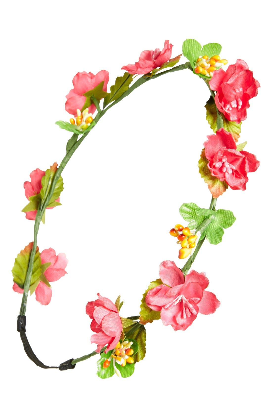 BP., Floral Headband, Main thumbnail 1, color, 650