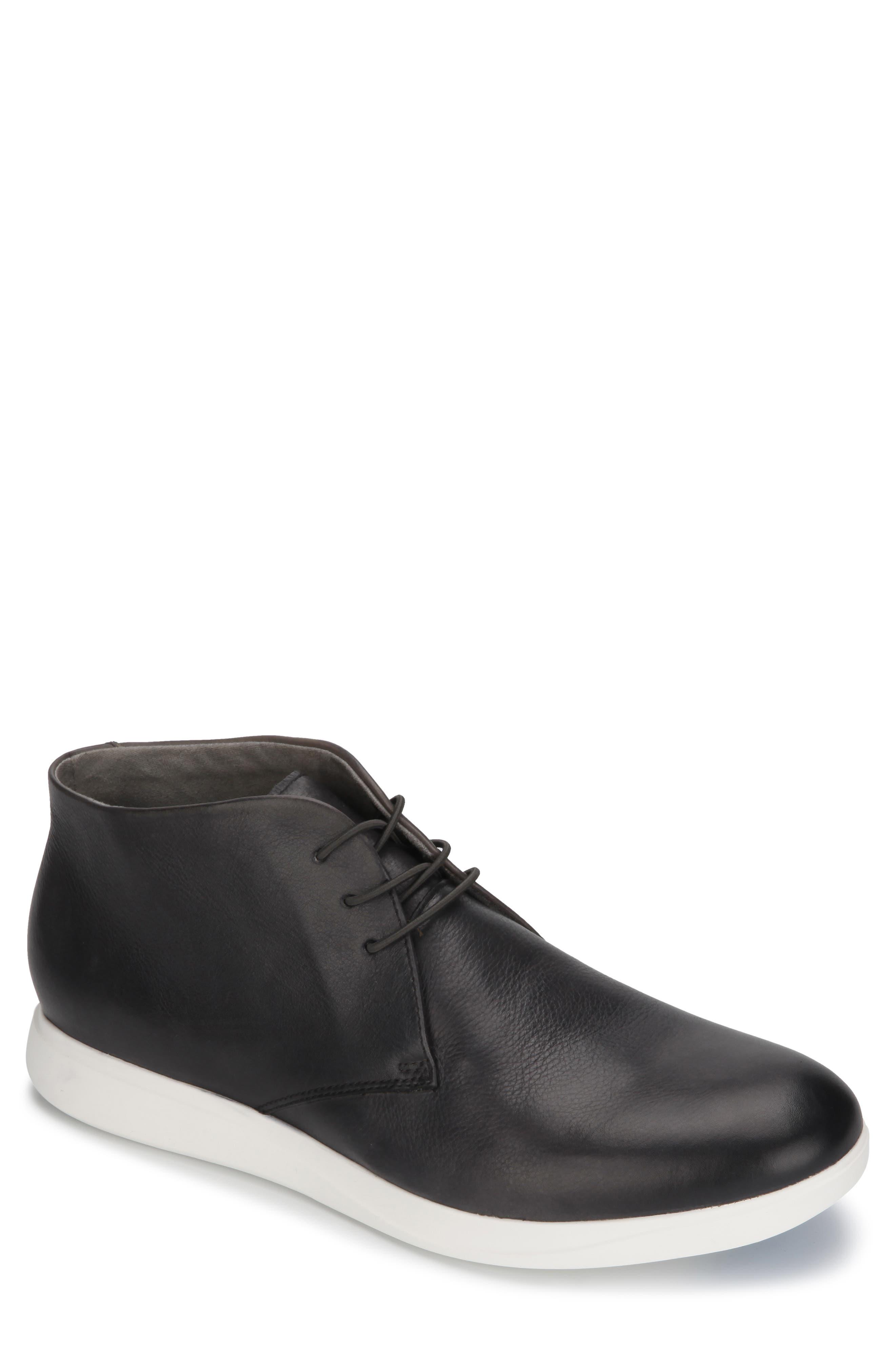 KENNETH COLE NEW YORK Rocketpod Chukka Sneaker, Main, color, GREY TUMBLED LEATHER