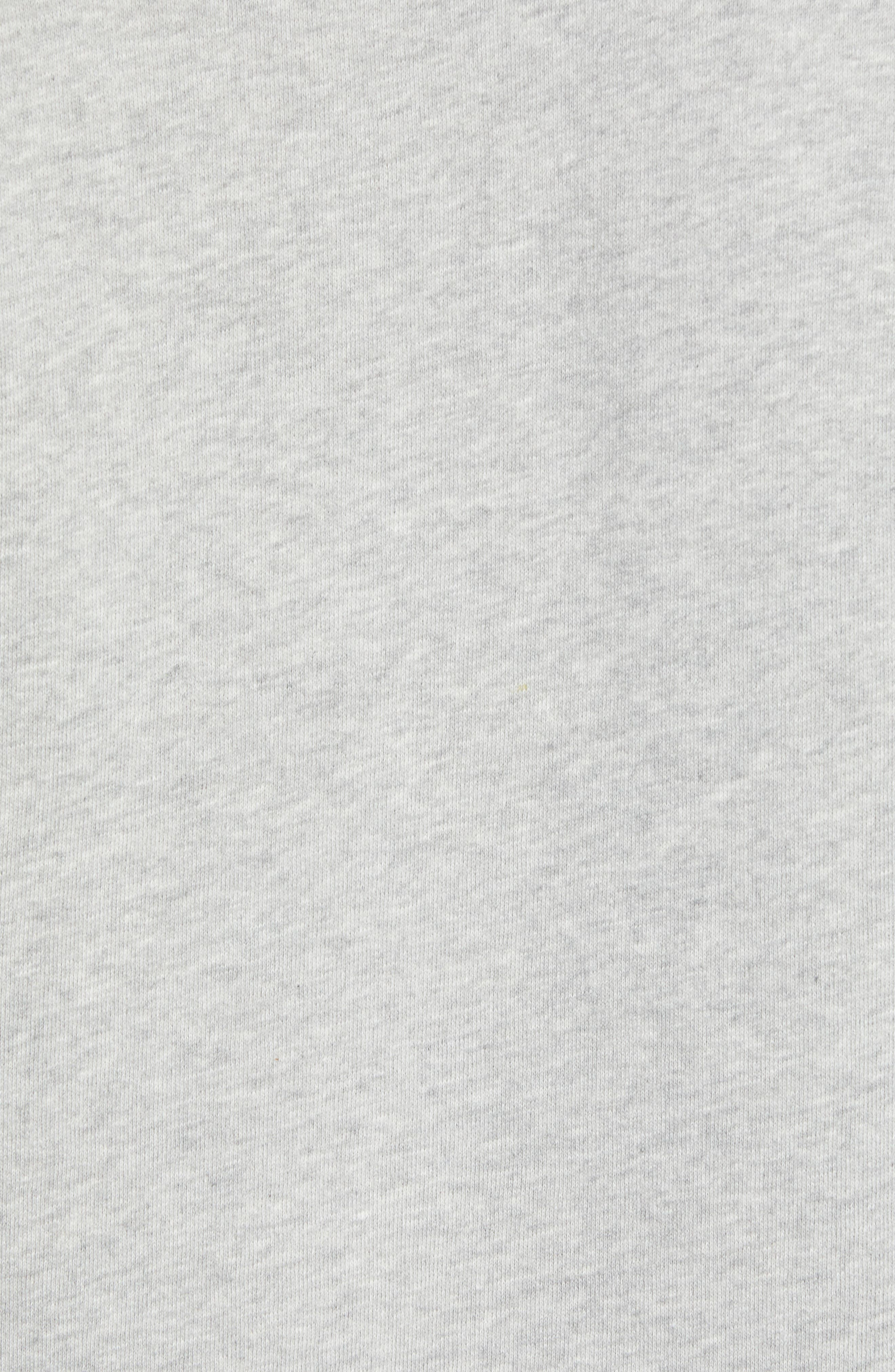 THE RAIL, Short Sleeve Rugby Shirt, Alternate thumbnail 5, color, GREY ASH HEATHER
