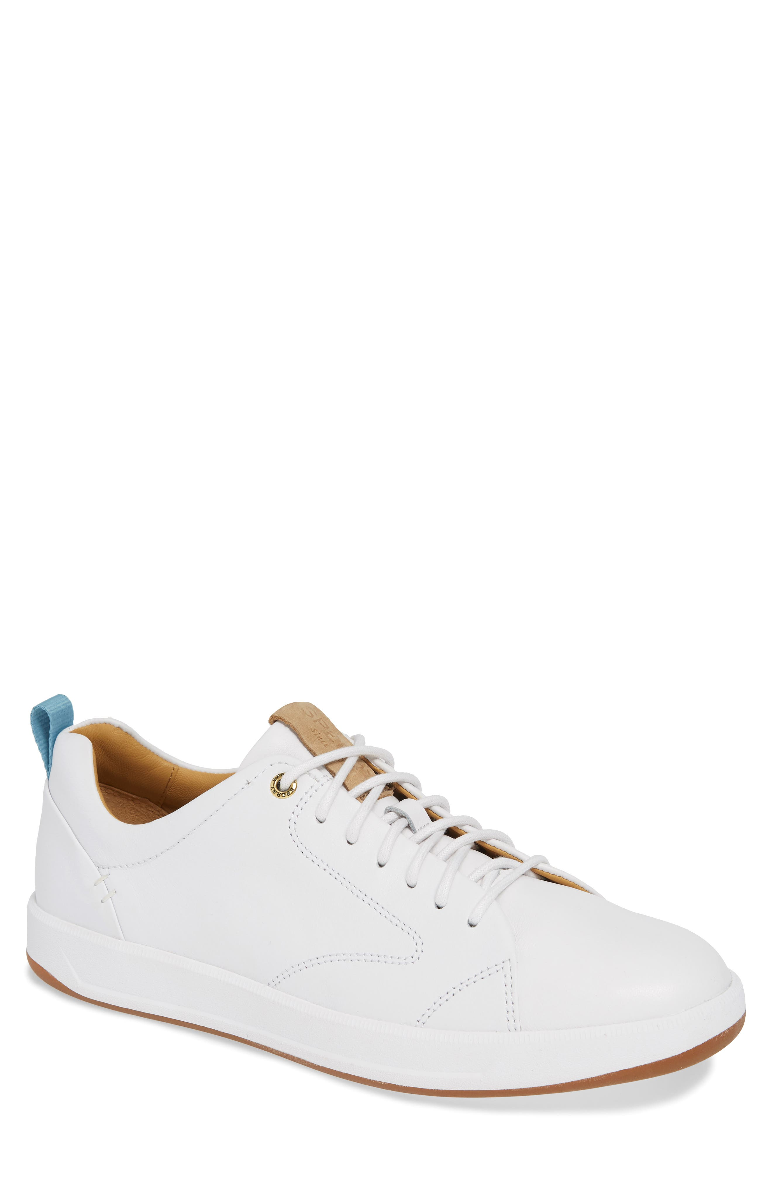 SPERRY, Gold Cup Richfield LTT Sneaker, Main thumbnail 1, color, WHITE