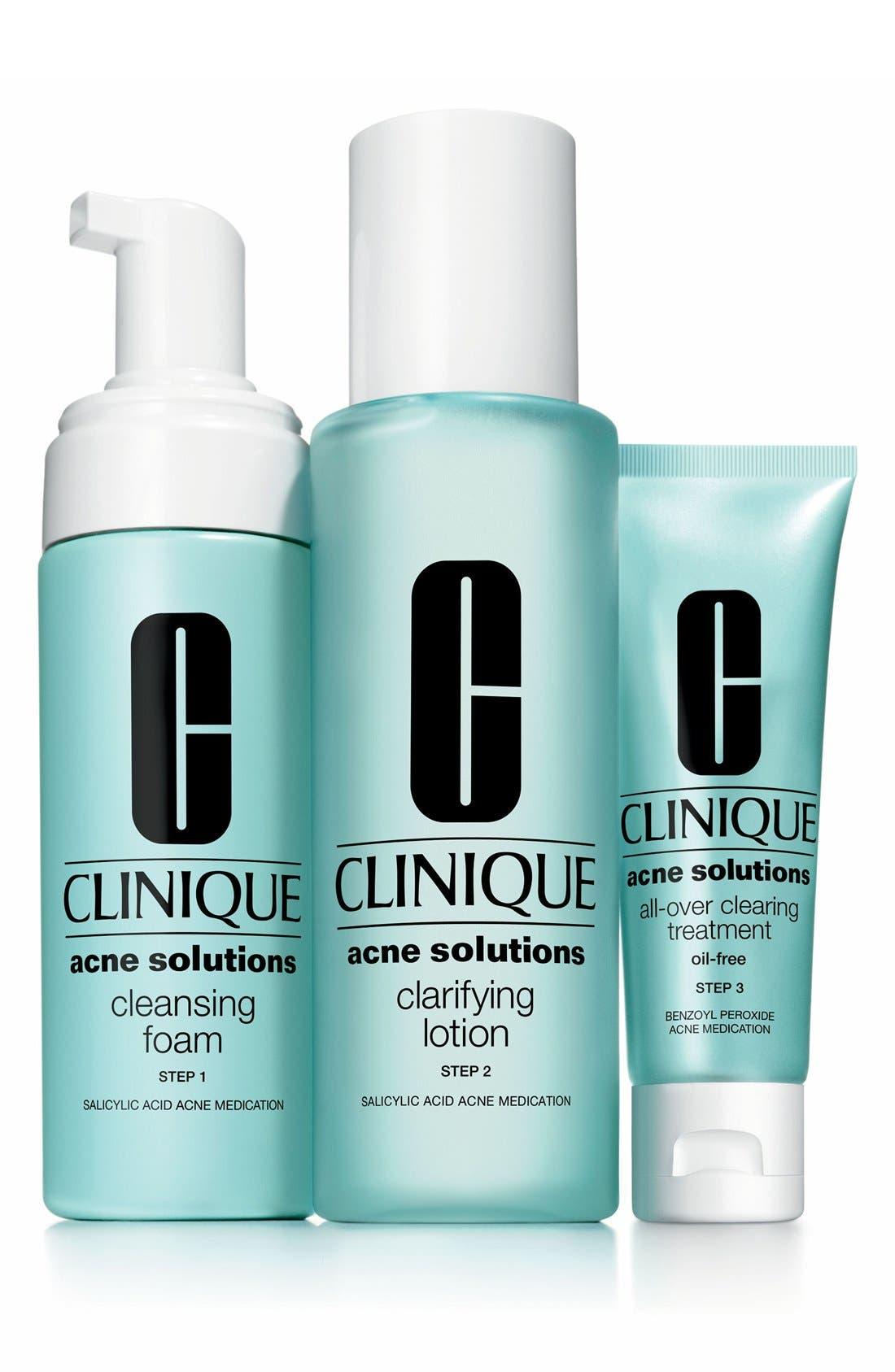 CLINIQUE, Acne Solutions Cleansing Foam, Alternate thumbnail 2, color, NO COLOR