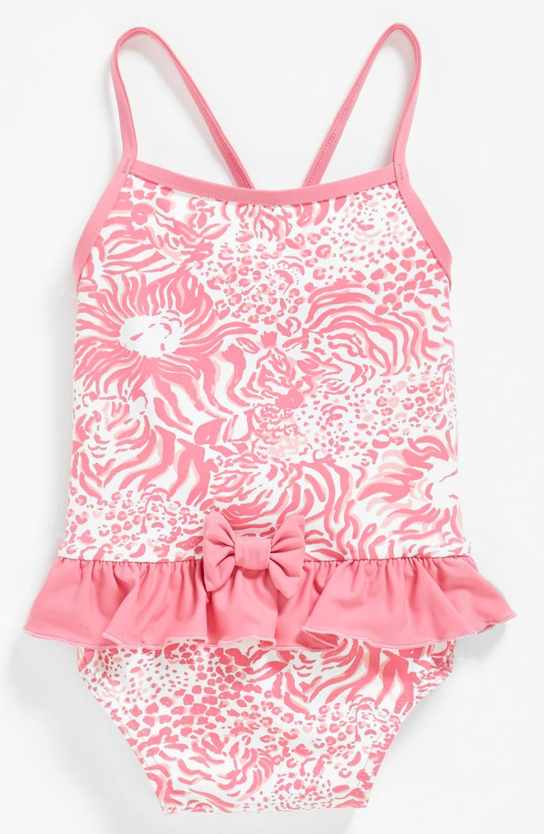 b4515ec35f Lilly Pulitzer® 'Arbor' One-Piece Swimsuit (Baby Girls) | Nordstrom