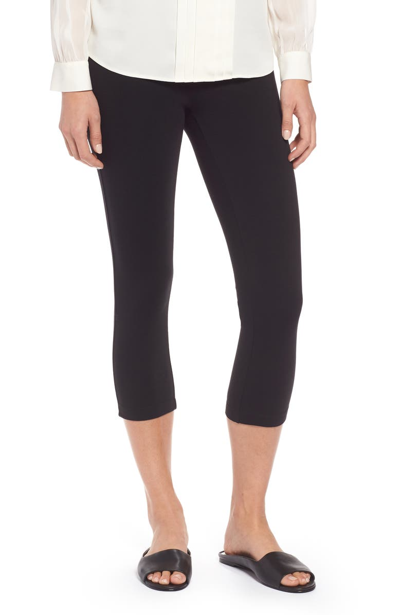 58cde83082f7ff NIC+ZOE Perfect Crop Leggings, Main, color, BLACK ONYX