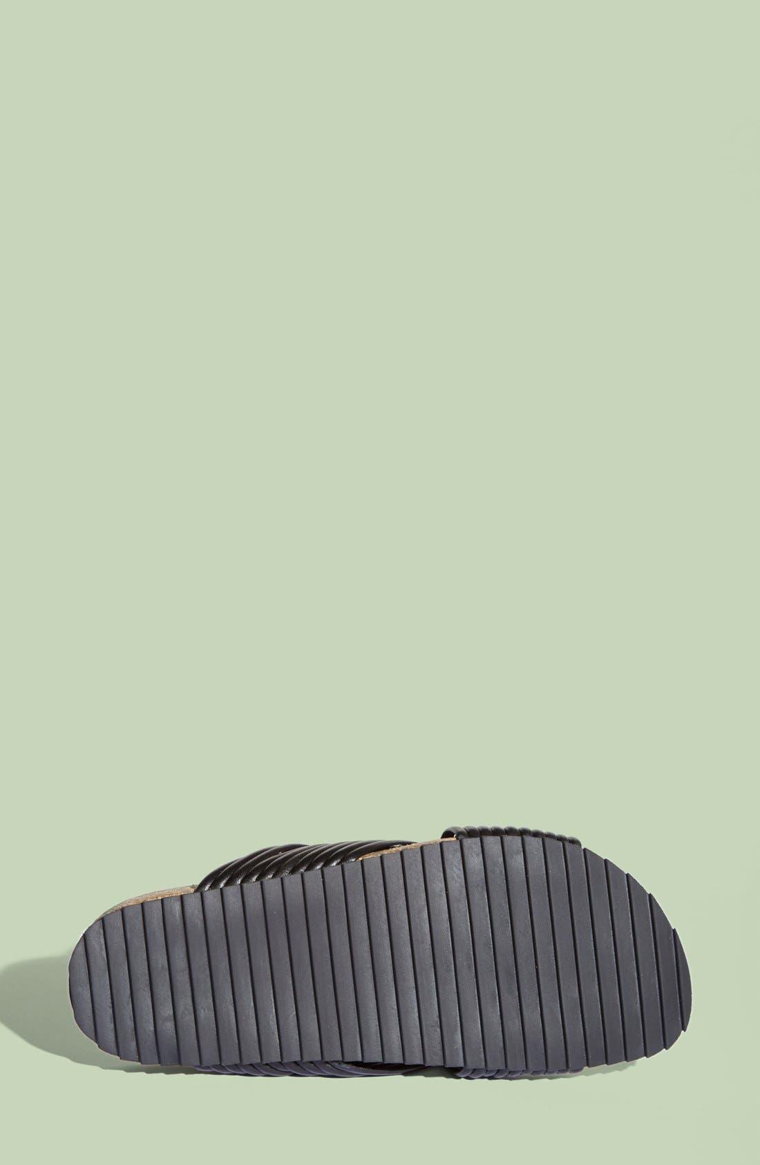 LOEFFLER RANDALL, 'Petra' Slide Footbed Sandal, Alternate thumbnail 2, color, 001