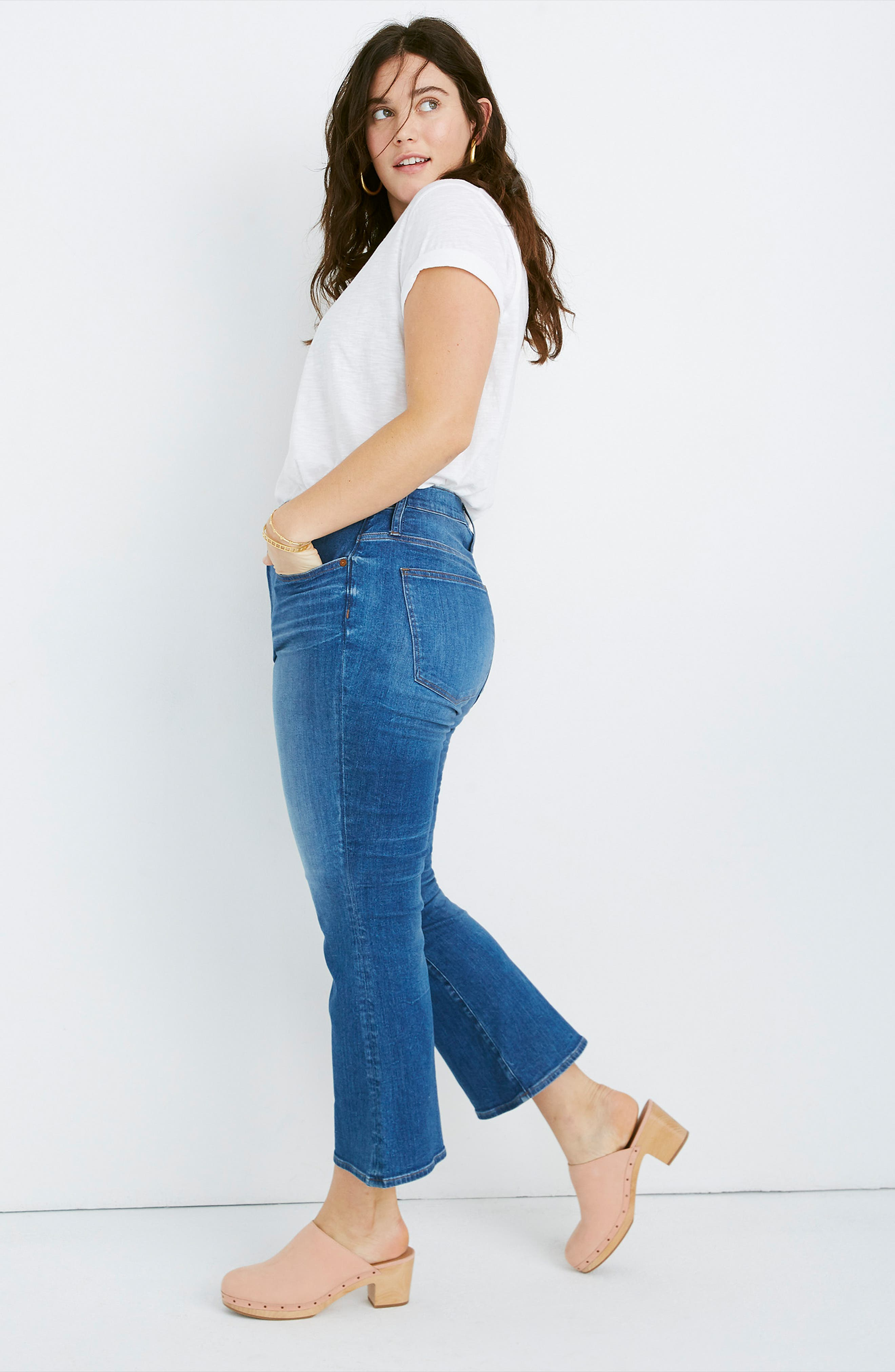 MADEWELL, Eco Edition Cali Demi Boot Jeans, Alternate thumbnail 11, color, TIERNEY WASH