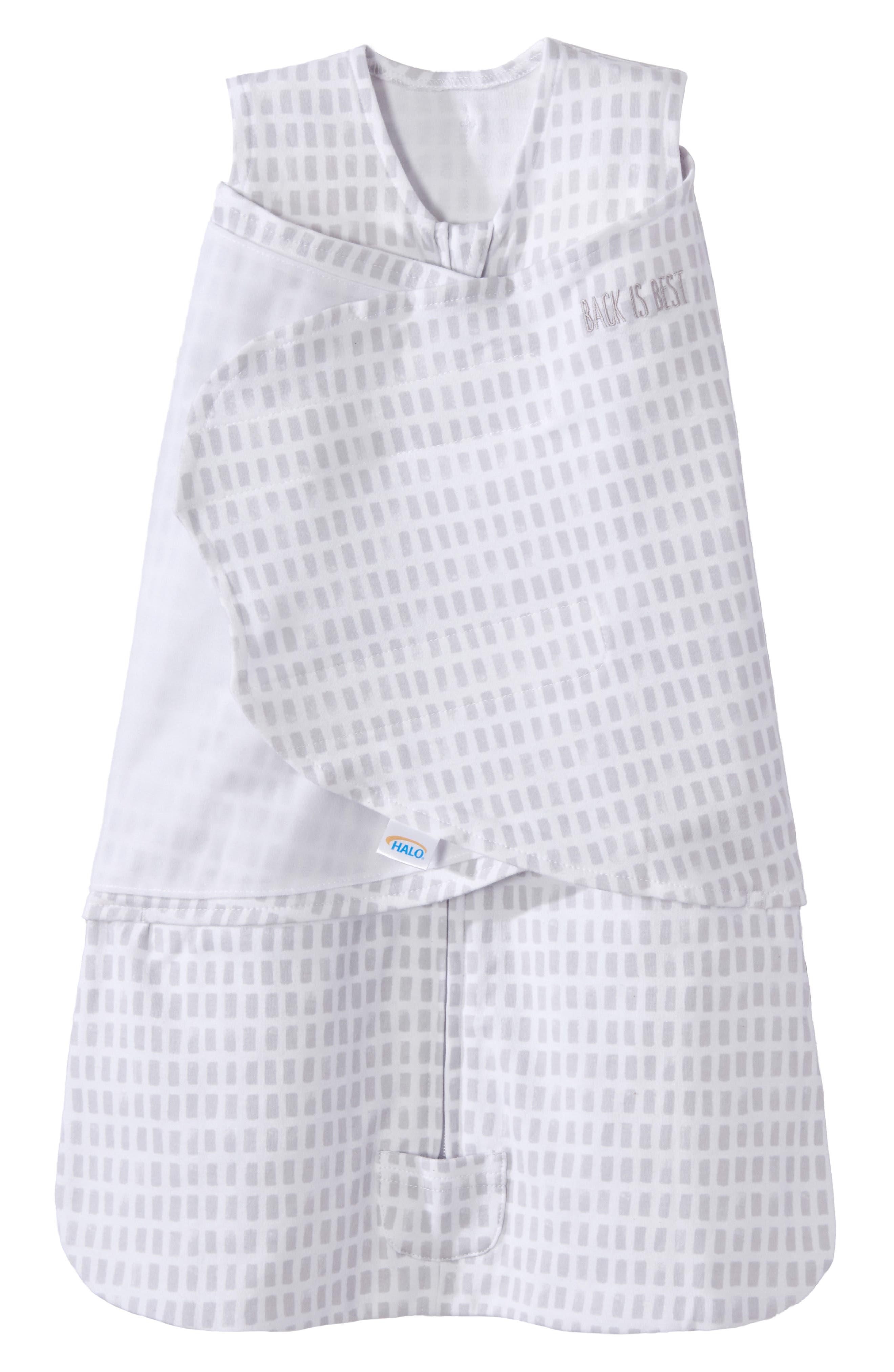 Halo Platinum Series Sleepsack(TM) Swaddle Size 36 M  Grey