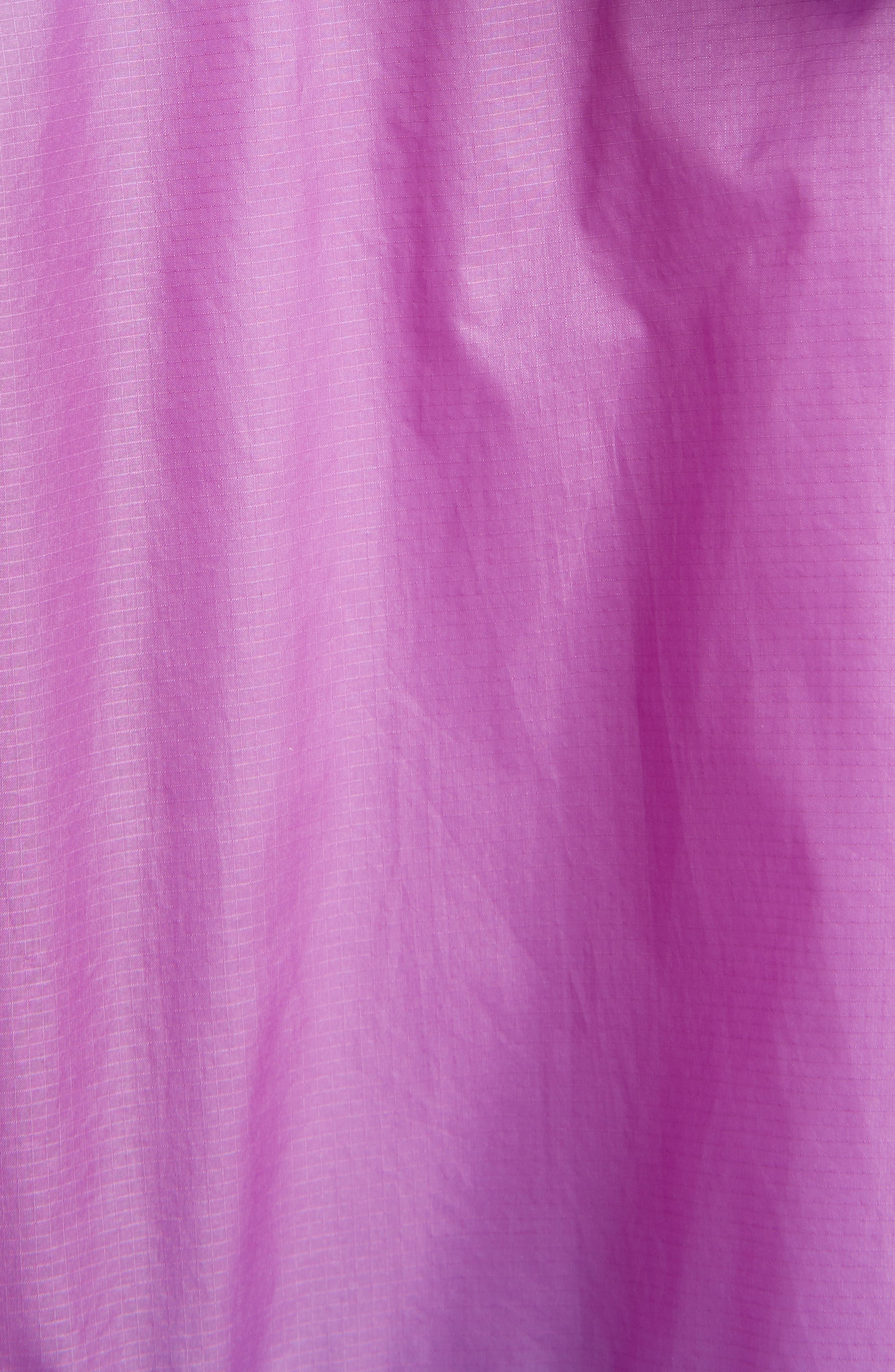 ISABEL MARANT ÉTOILE, Kyriel Colorblock Hooded Jacket, Alternate thumbnail 7, color, ELECTRIC BLUE/ VIOLET