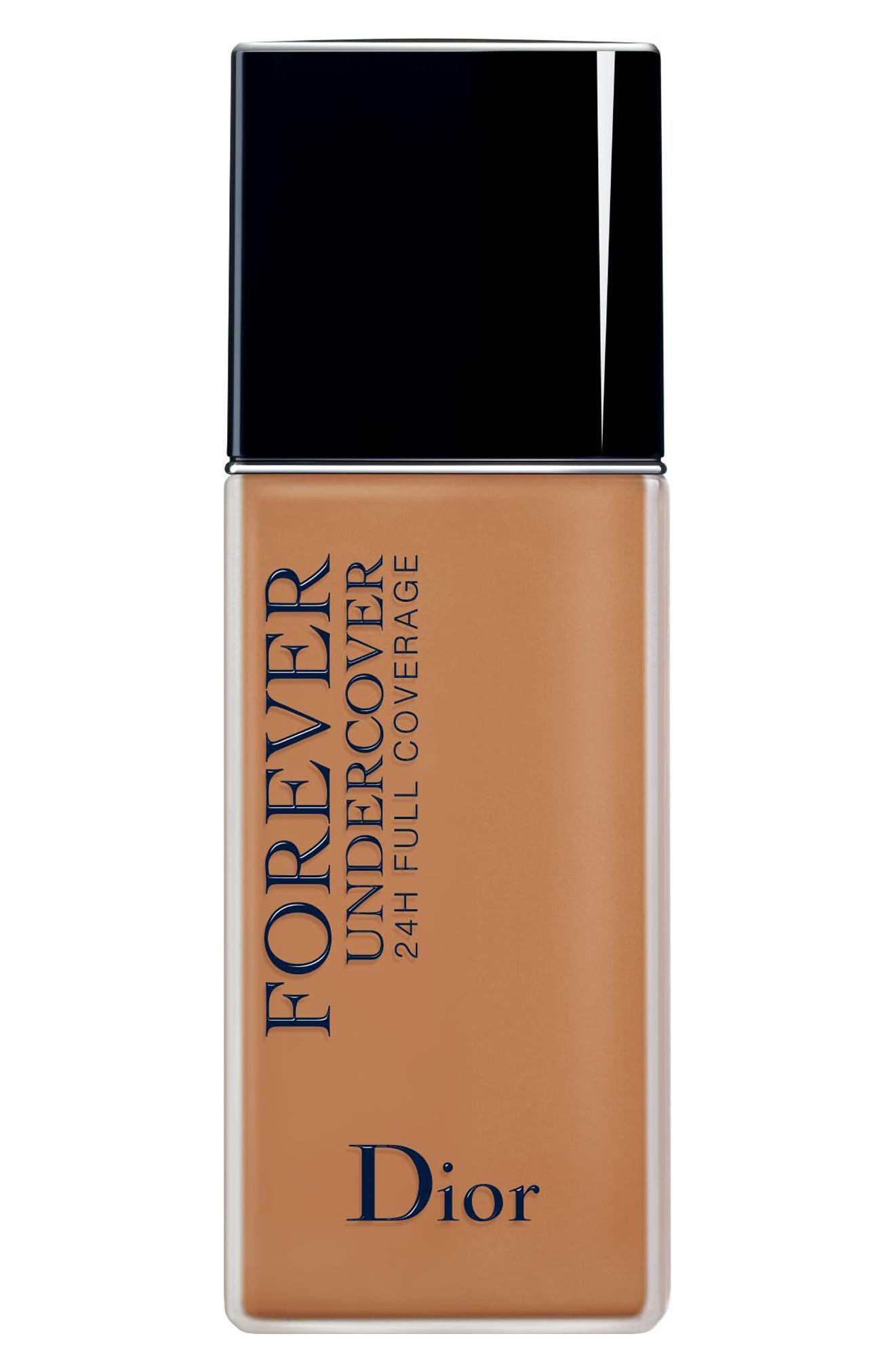 DIOR, Diorskin Forever Undercover 24-Hour Full Coverage Water-Based Foundation, Main thumbnail 1, color, 051 PRALINE