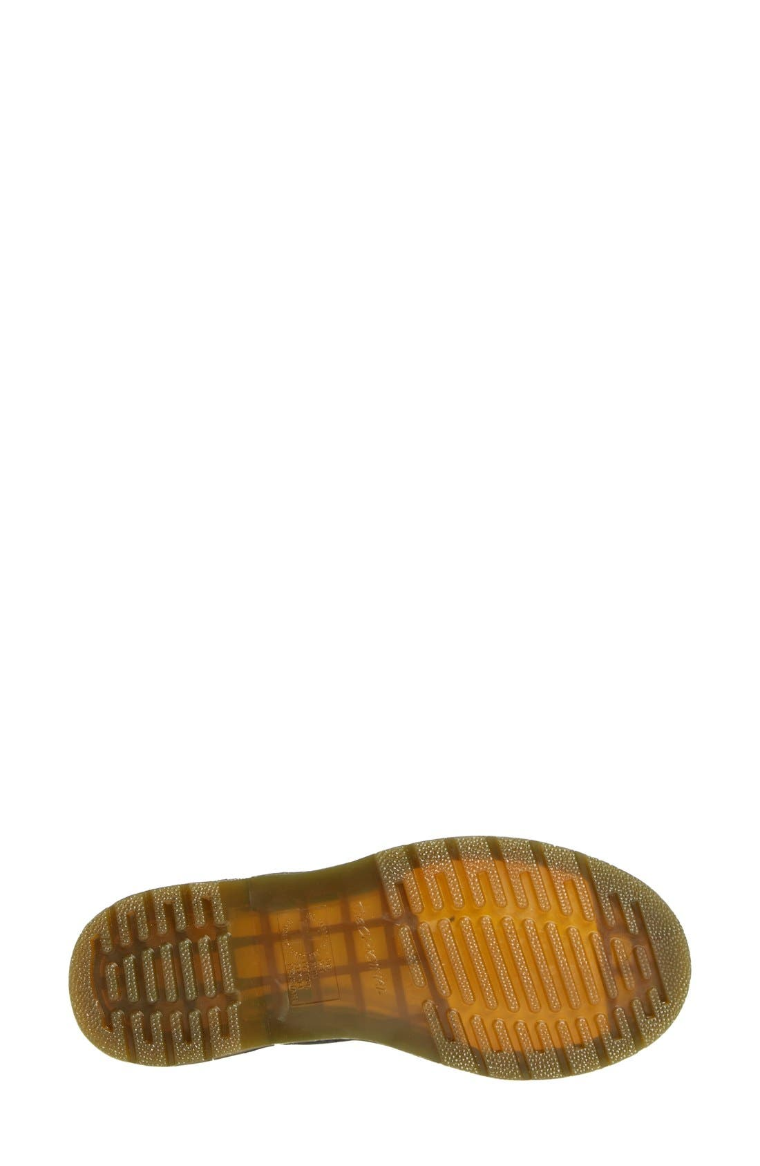 DR. MARTENS, '1B99' Leather Boot, Alternate thumbnail 4, color, BLACK VIRGINIA
