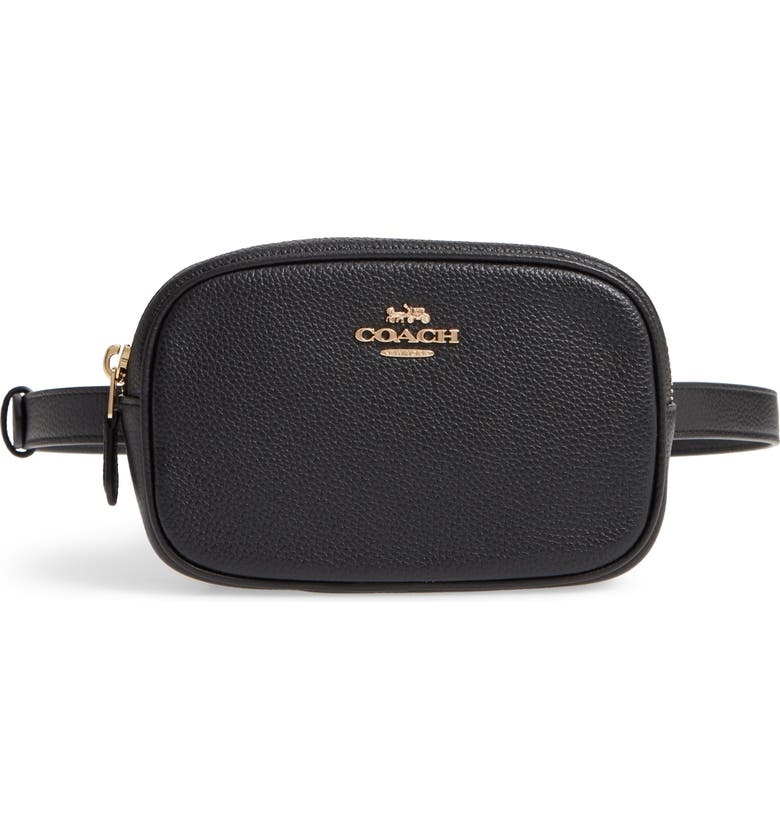 15dc41b33d1aa COACH Pebbled Leather Belt Bag