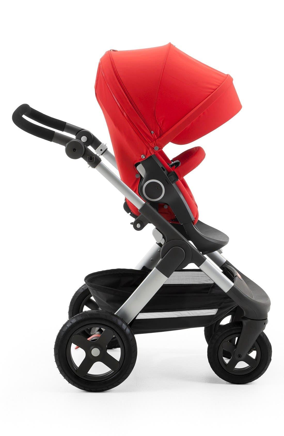 STOKKE, Trailz<sup>™</sup> All Terrain Stroller, Alternate thumbnail 3, color, RED