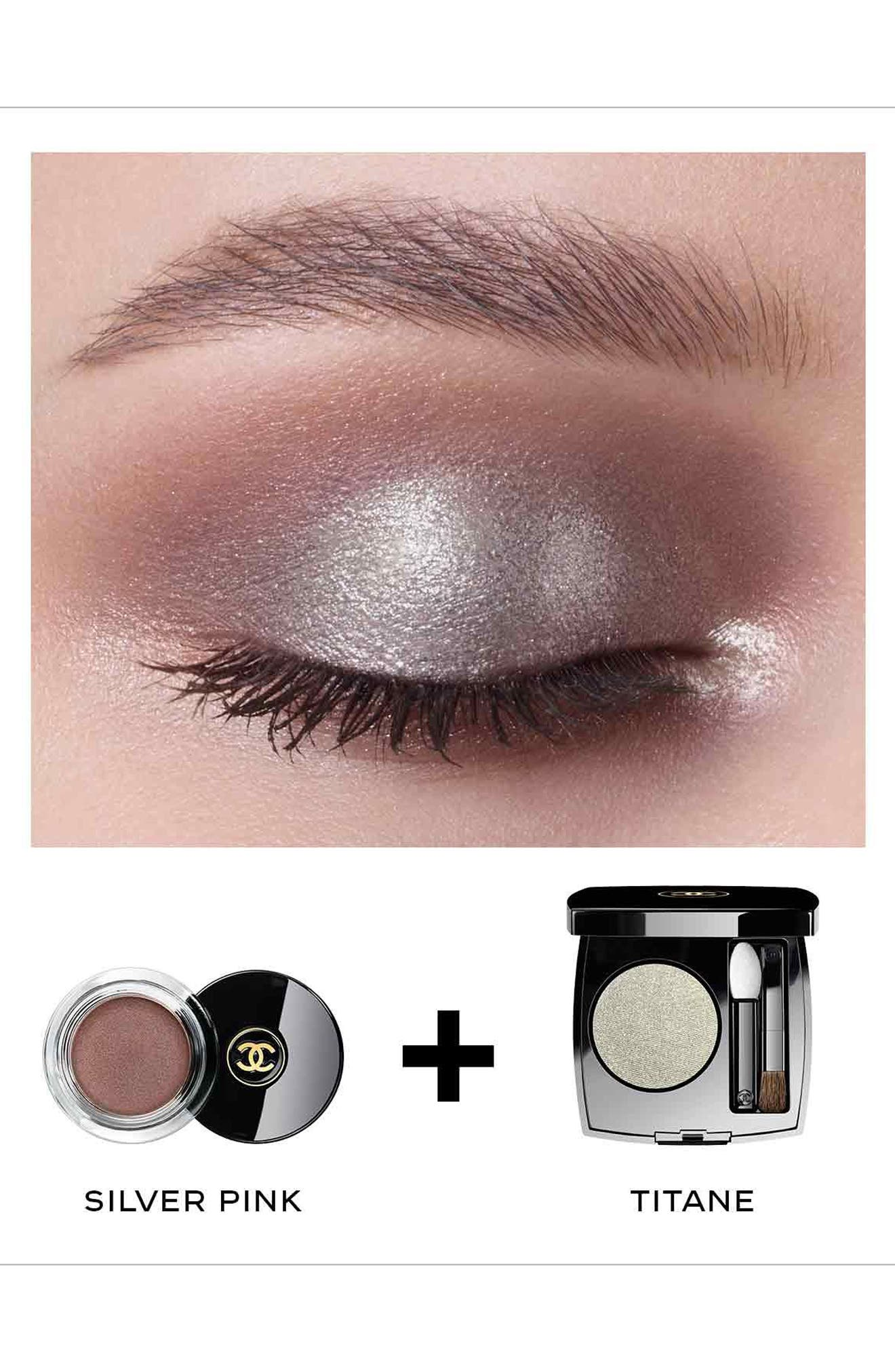 CHANEL, OMBRE PREMIÈRE<br />Longwear Powder Eyeshadow, Alternate thumbnail 3, color, 38 TITANE