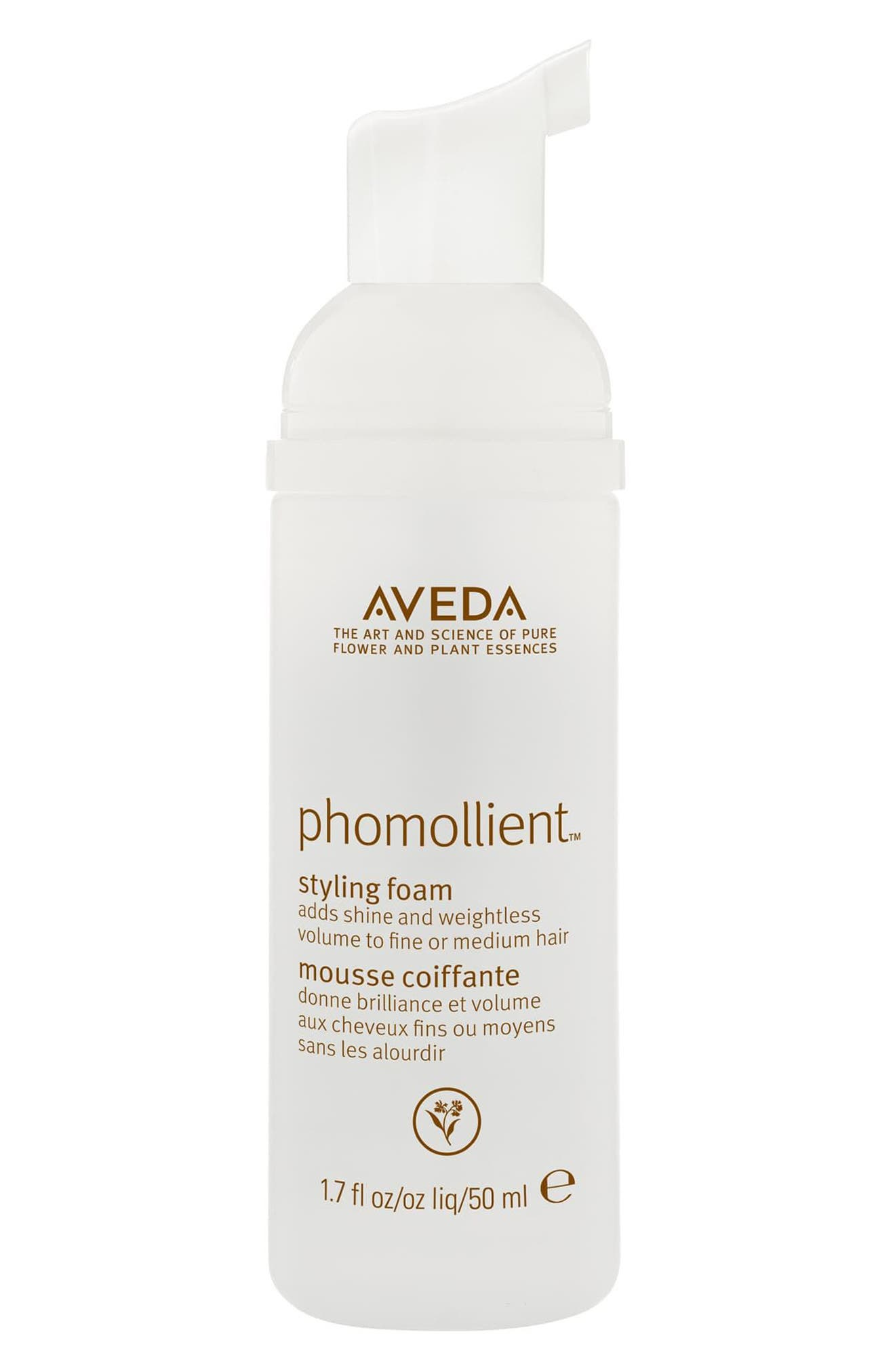 AVEDA, phomollient<sup>™</sup> Styling Foam, Alternate thumbnail 3, color, NO COLOR